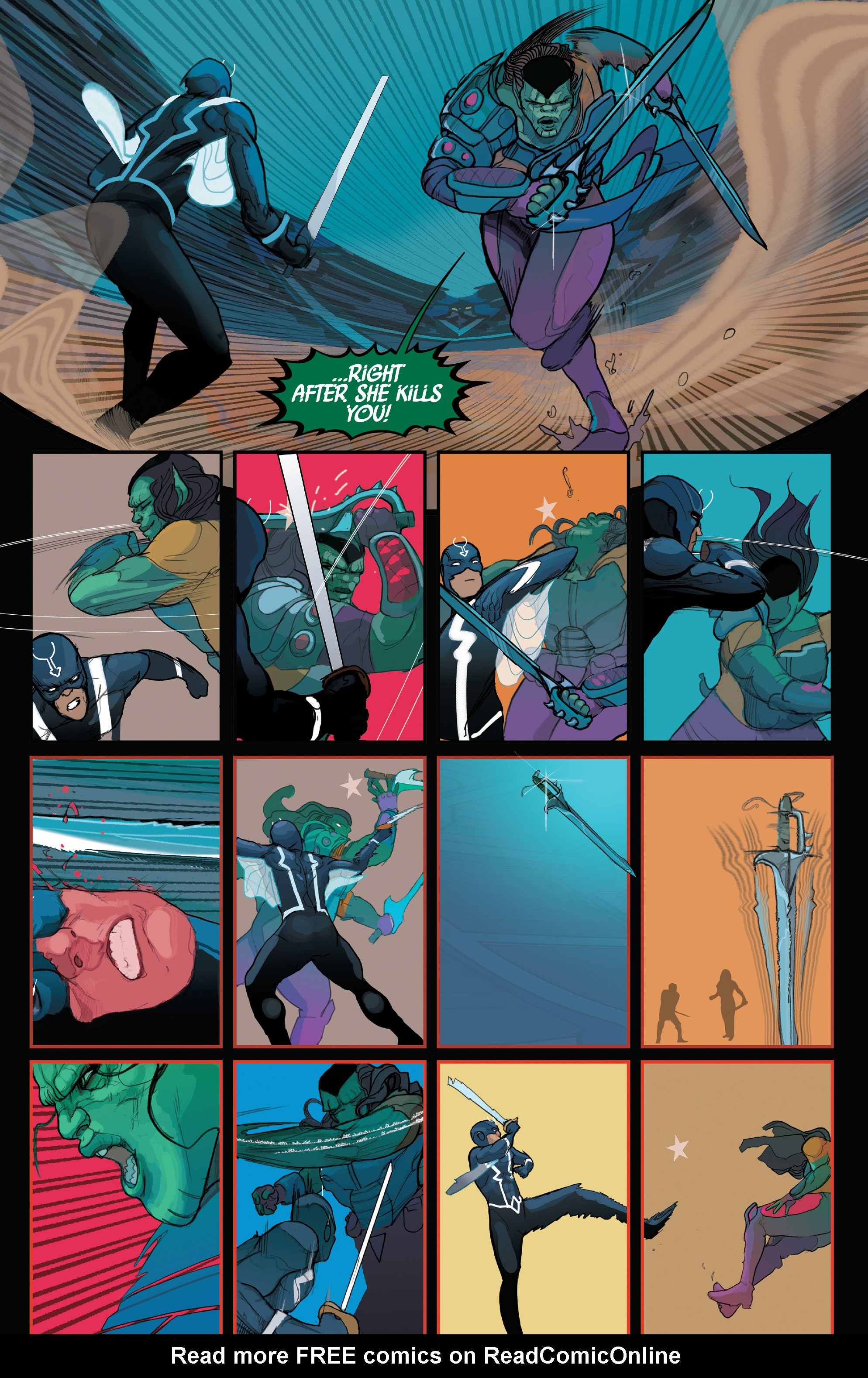 Read online Black Bolt comic -  Issue #2 - 14