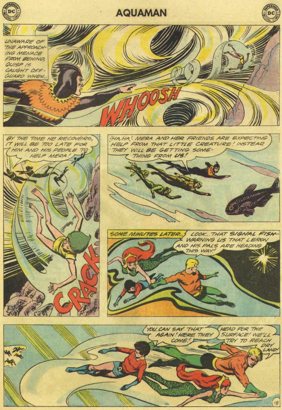Read online Aquaman (1962) comic -  Issue #11 - 25