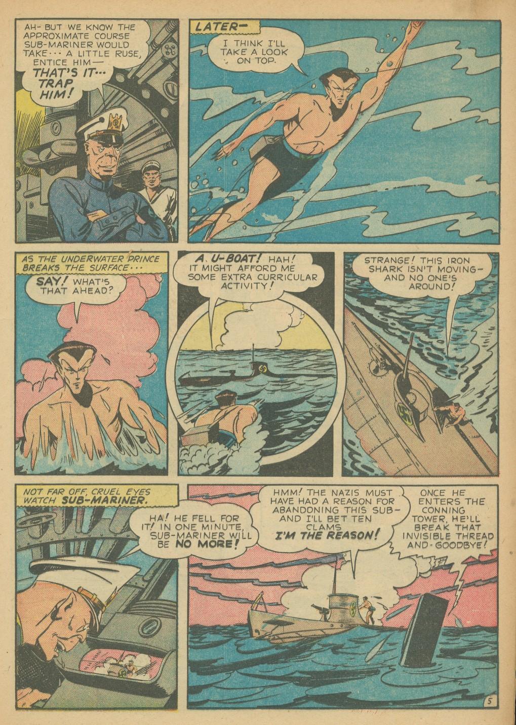 Read online All-Winners Comics comic -  Issue #8 - 33