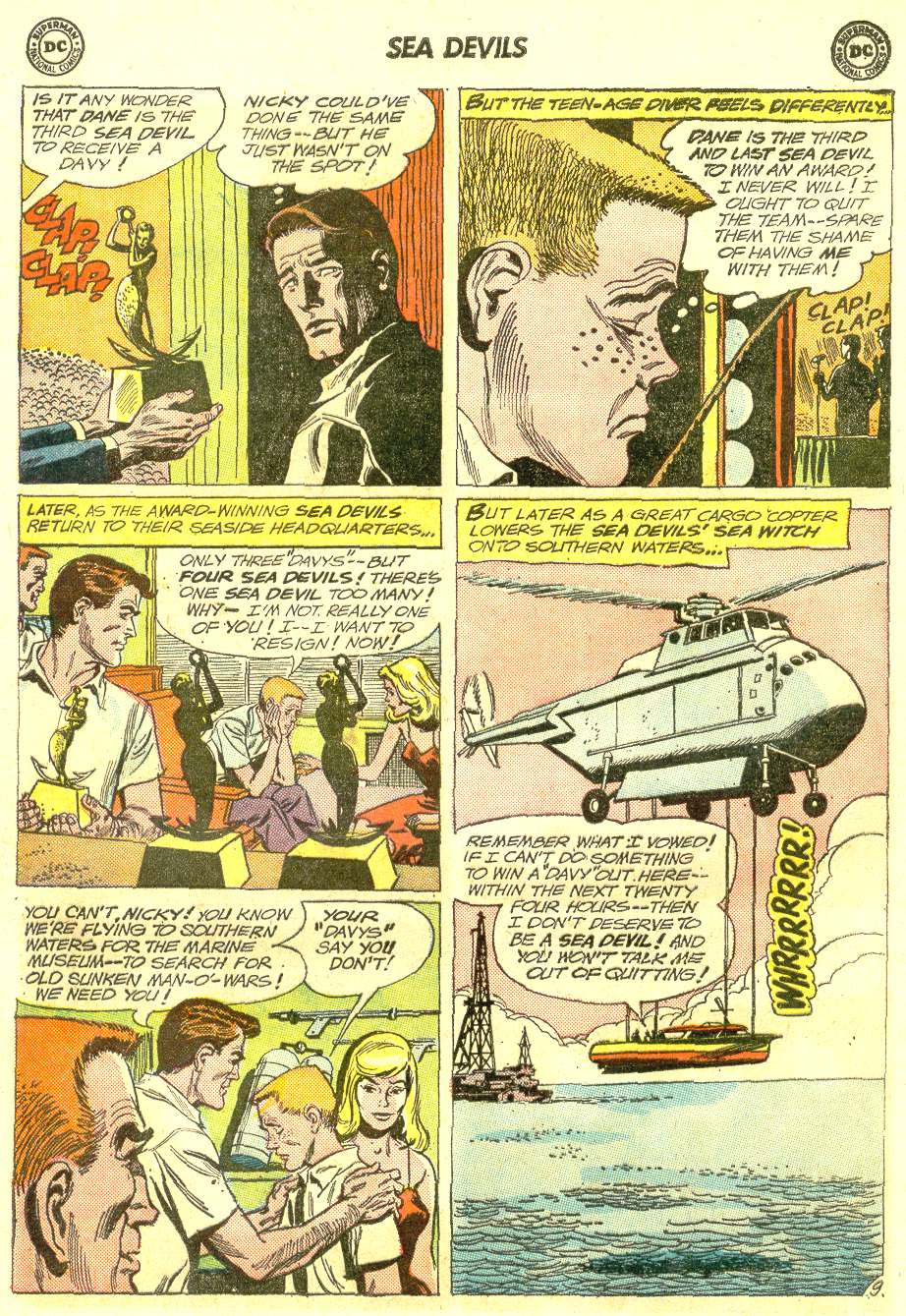 Read online Sea Devils comic -  Issue #12 - 13