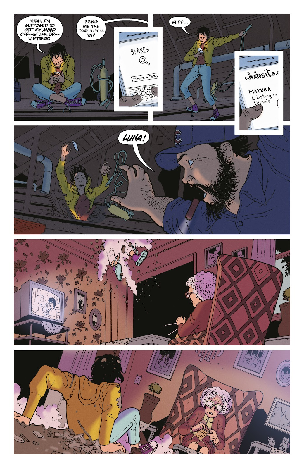 Read online She Could Fly comic -  Issue # _TPB - 48