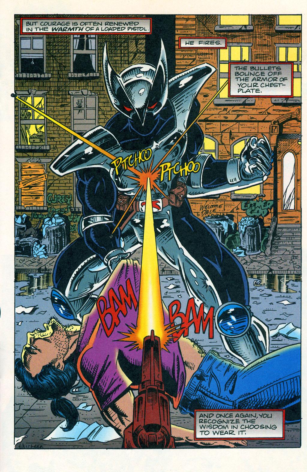 Read online ShadowHawk comic -  Issue #1 - 17