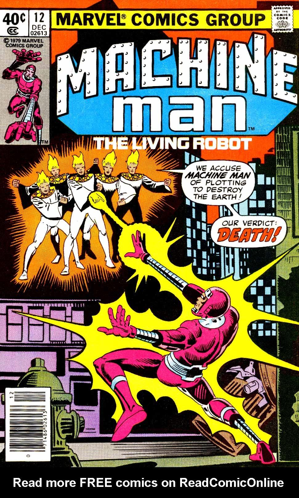 Machine Man (1978) issue 12 - Page 1