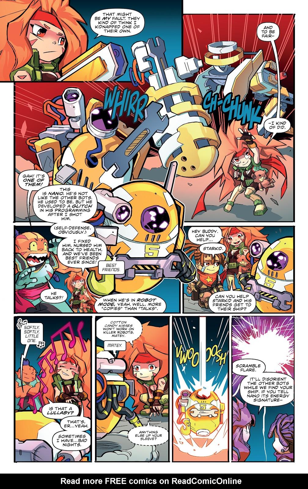 Read online Starcadia Quest comic -  Issue #3 - 8