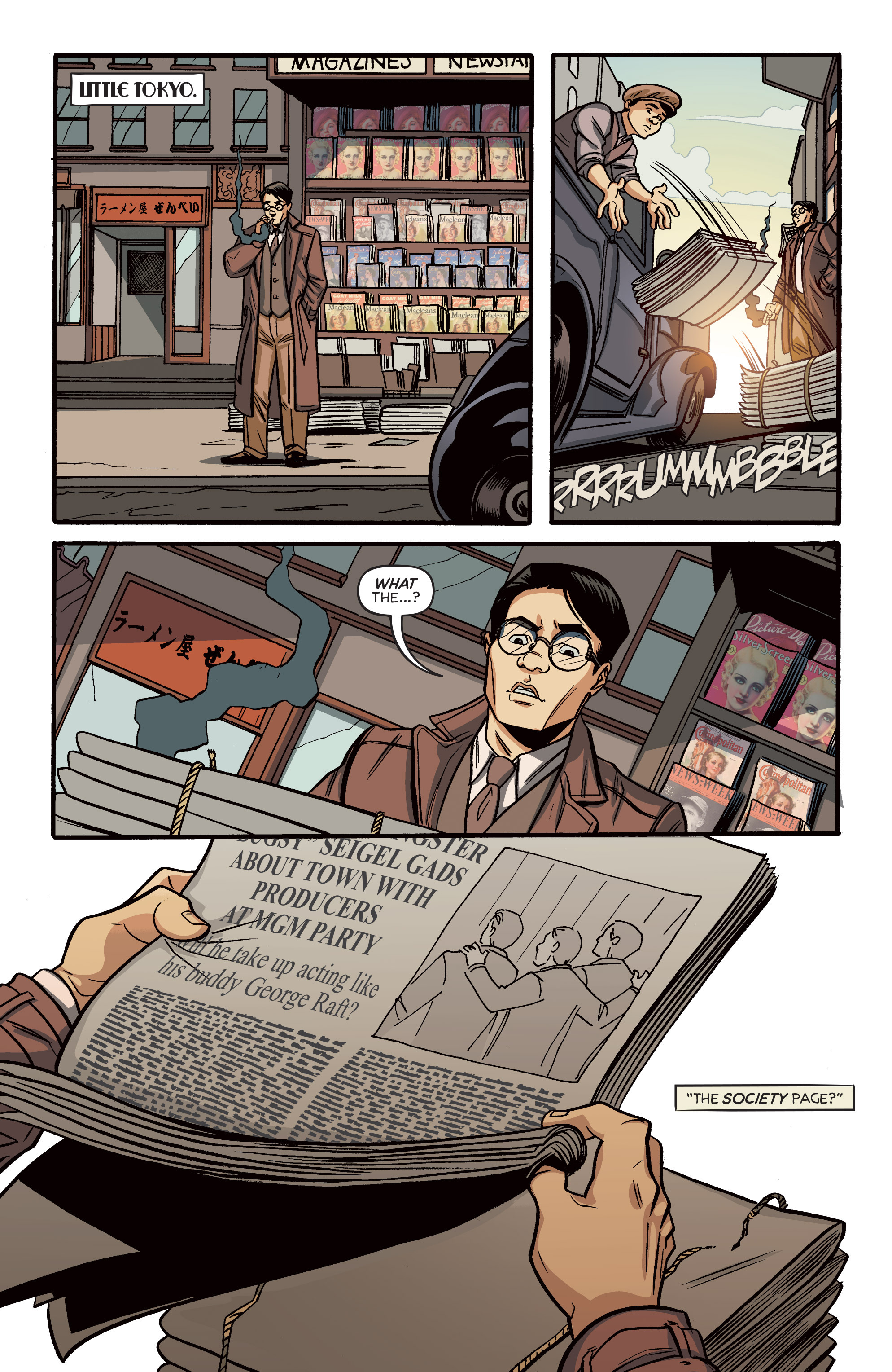 Read online Angel City comic -  Issue #5 - 11