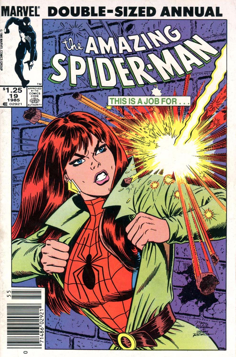 The Amazing Spider-Man (1963) _Annual_19 Page 1