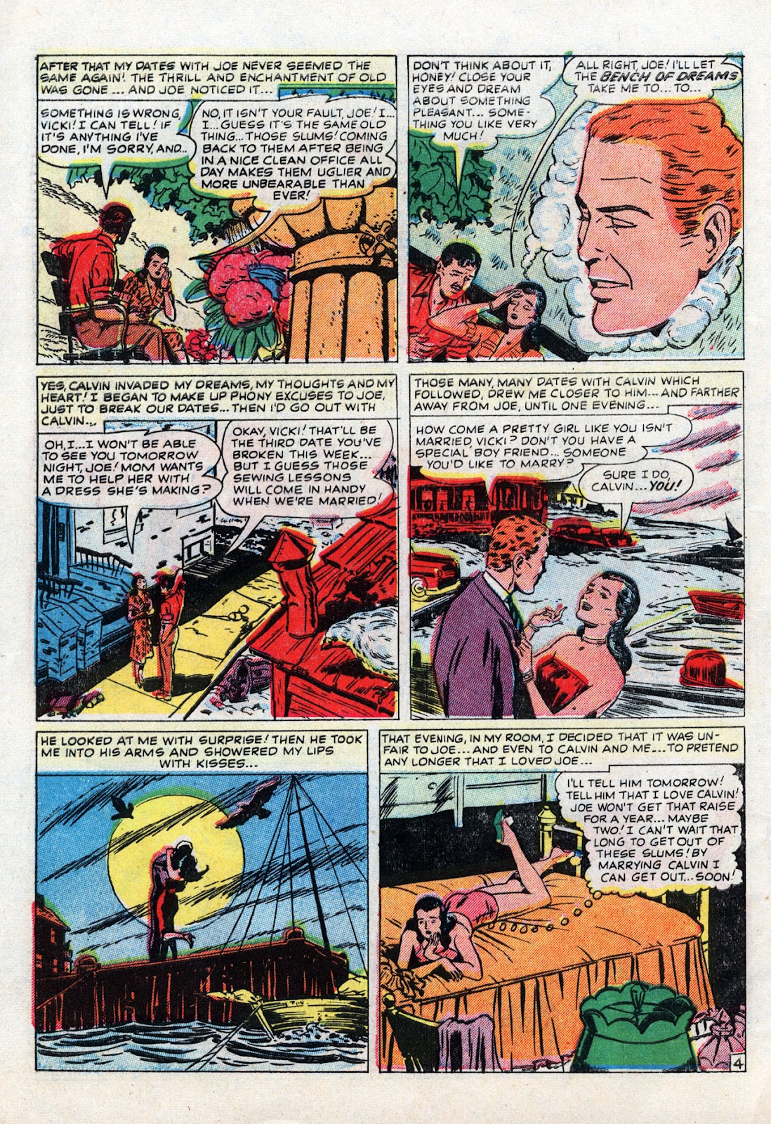 Love Romances (1949) issue 19 - Page 6