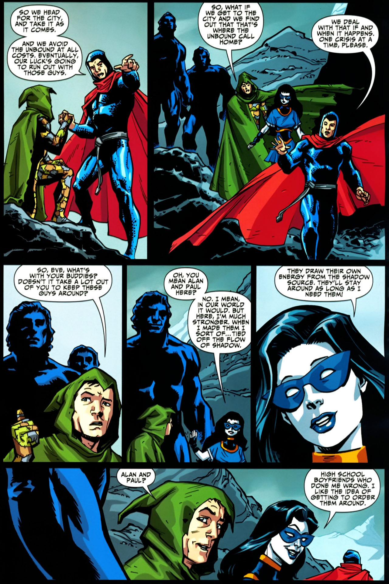 Read online Shadowpact comic -  Issue #20 - 12