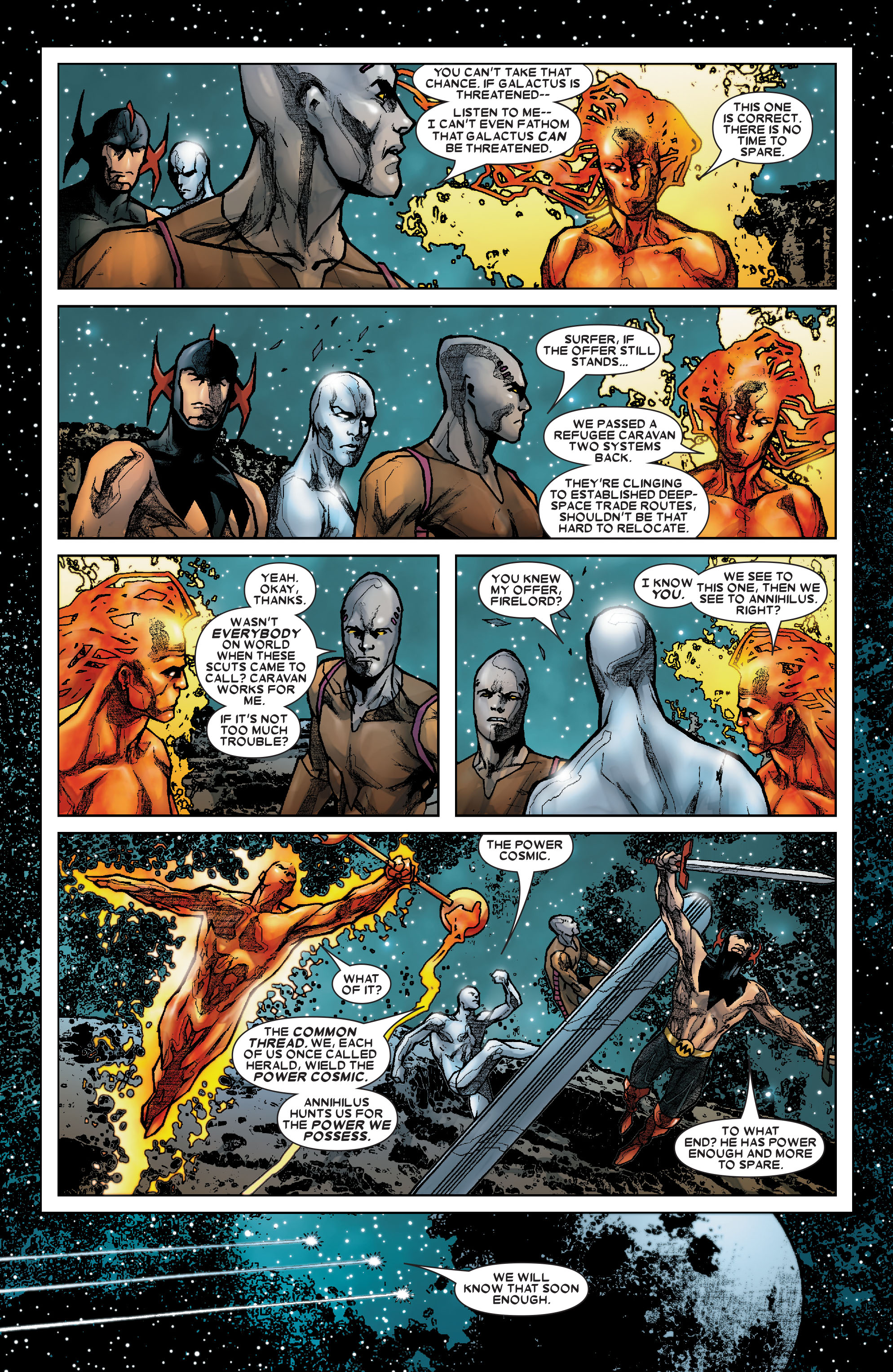Read online Annihilation: Silver Surfer comic -  Issue #2 - 22