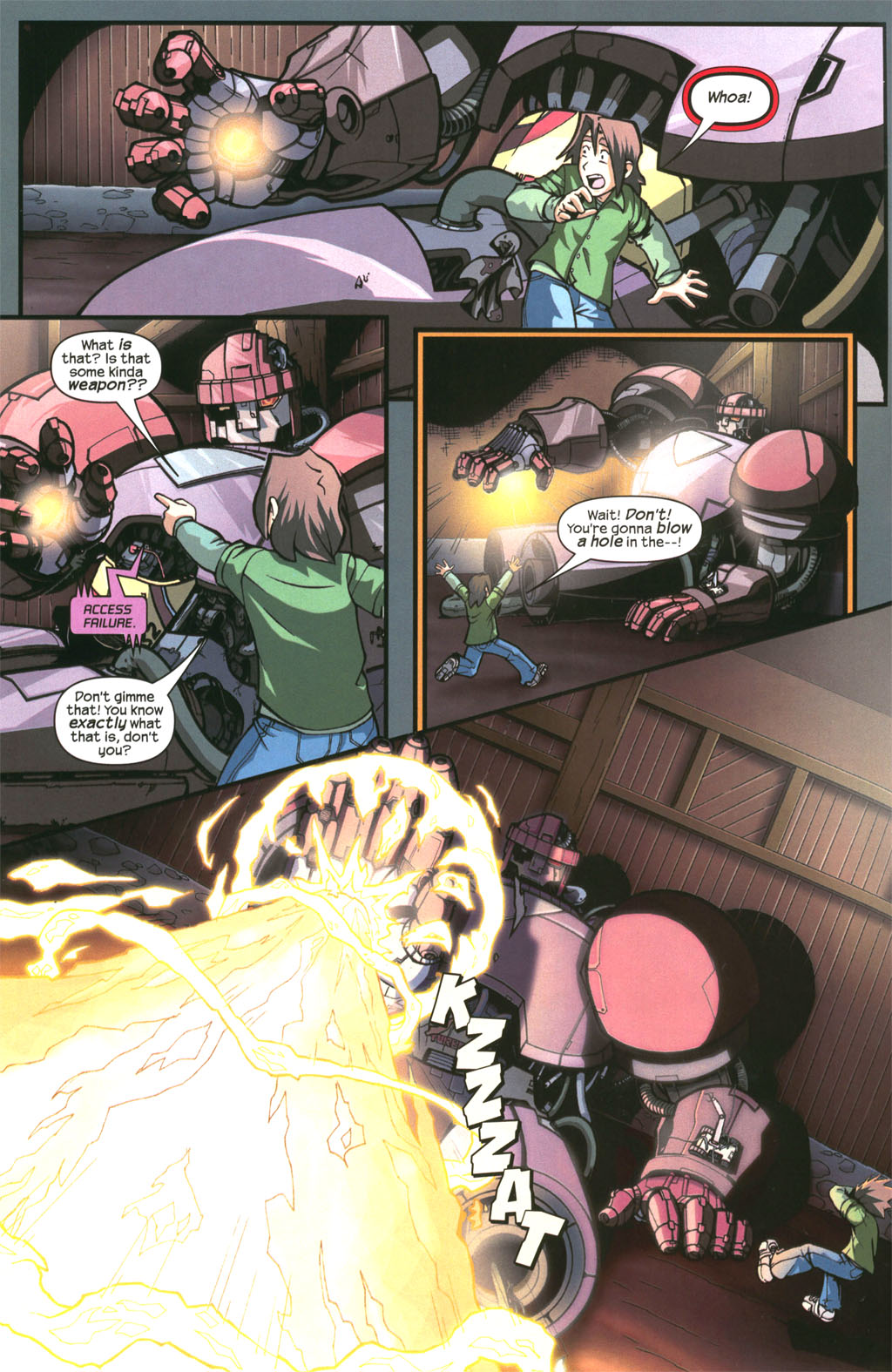 Read online Sentinel comic -  Issue #3 - 8