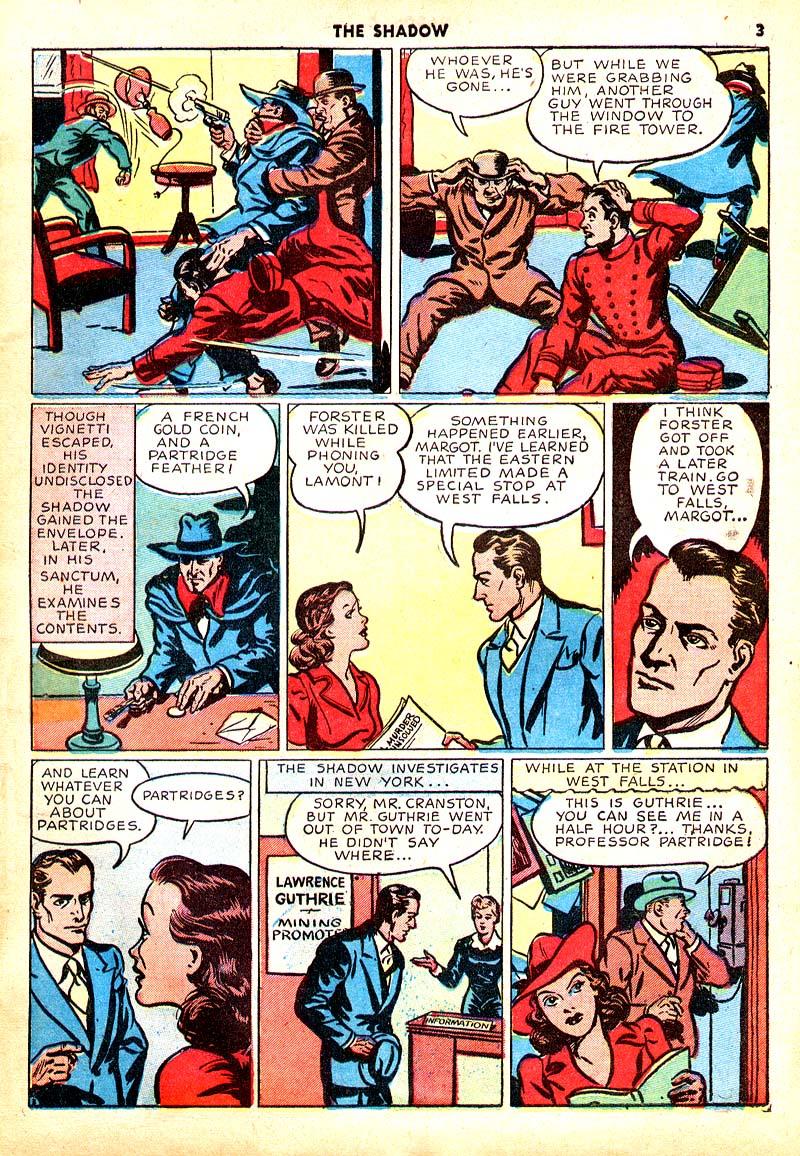 Read online Shadow Comics comic -  Issue #7 - 4