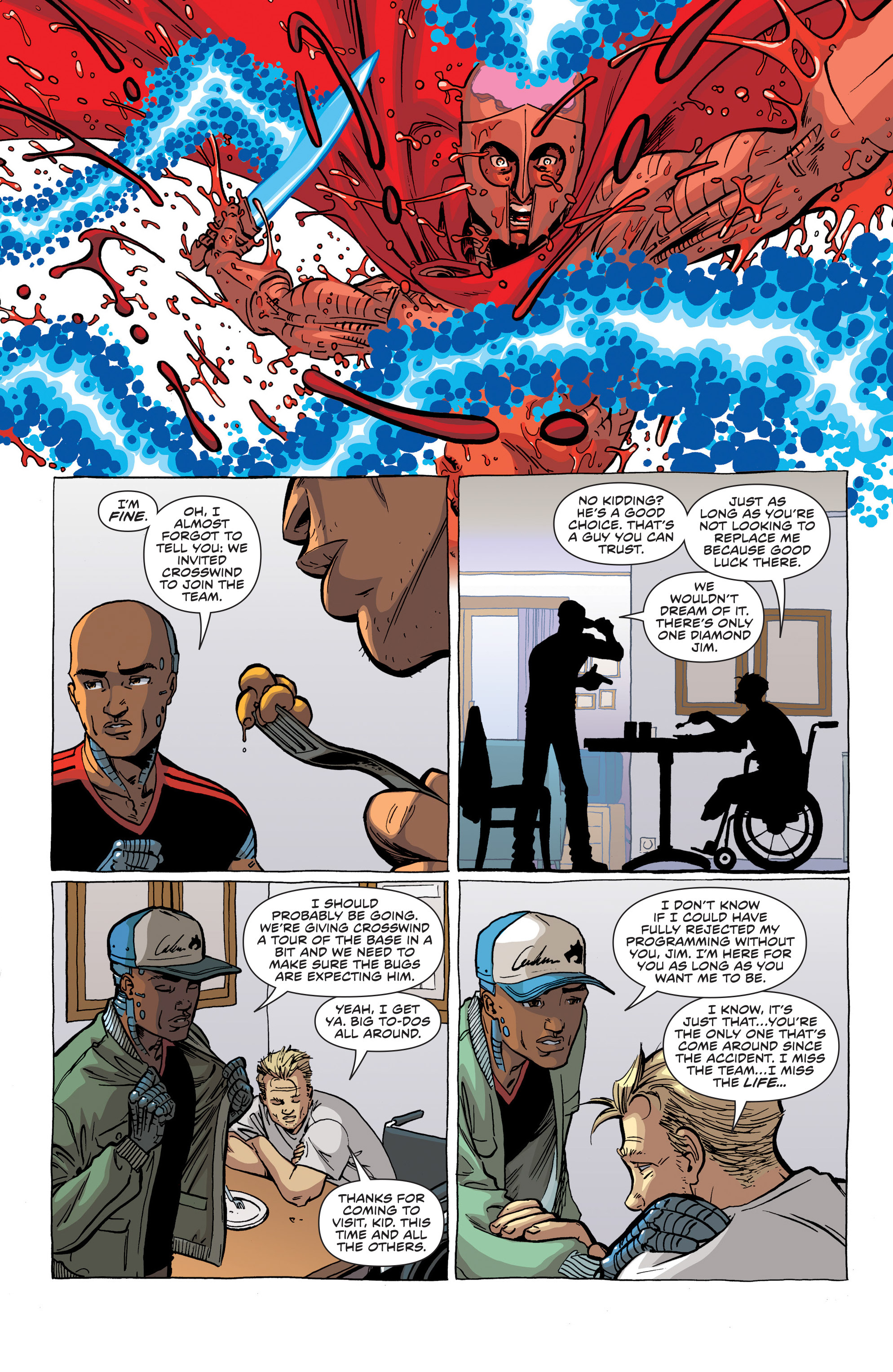 Read online Secret Identities comic -  Issue #1 - 24