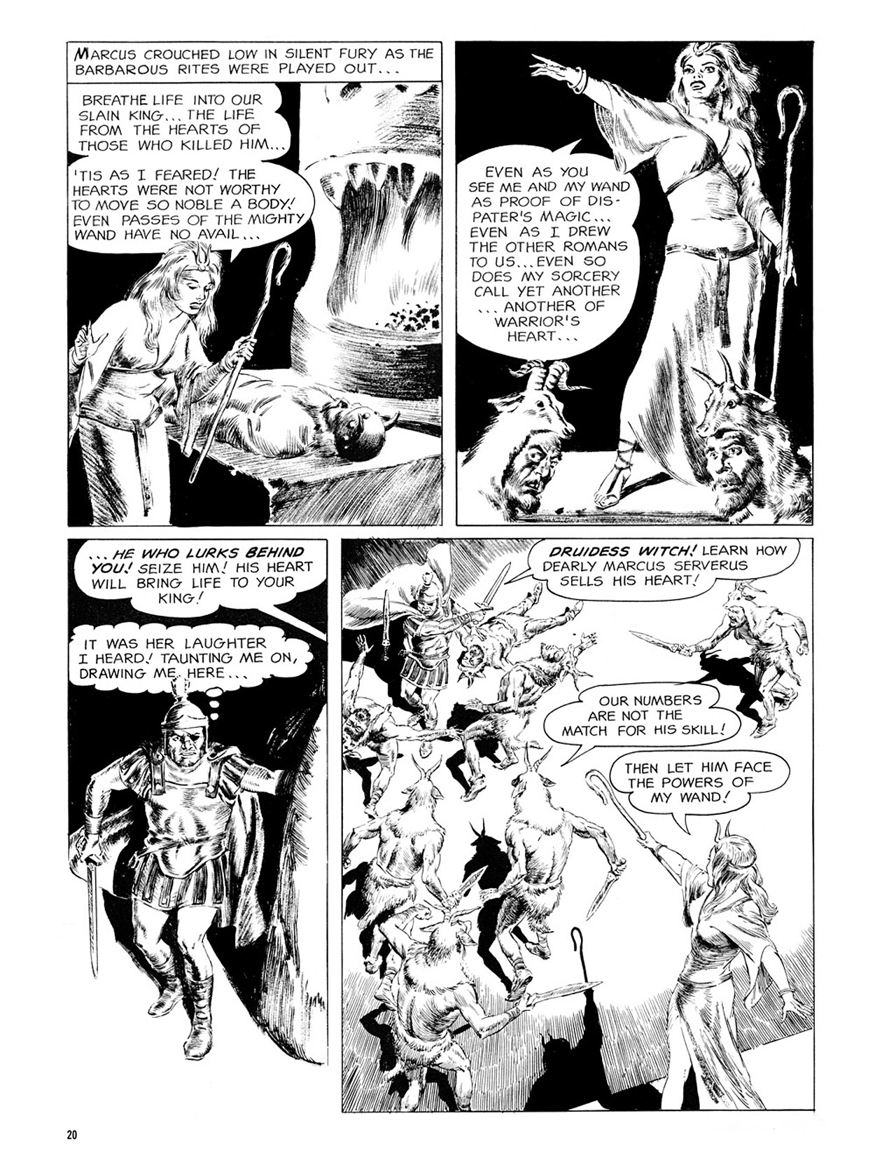 Read online Eerie Archives comic -  Issue # TPB 2 - 21