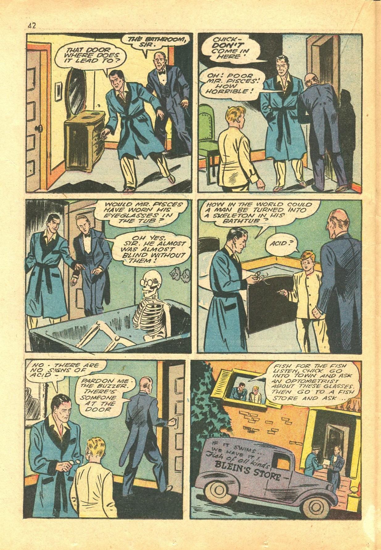 Read online Shadow Comics comic -  Issue #24 - 34