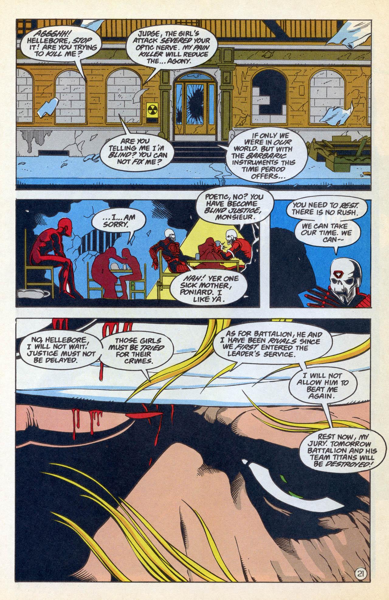 Read online Team Titans comic -  Issue #4 - 26