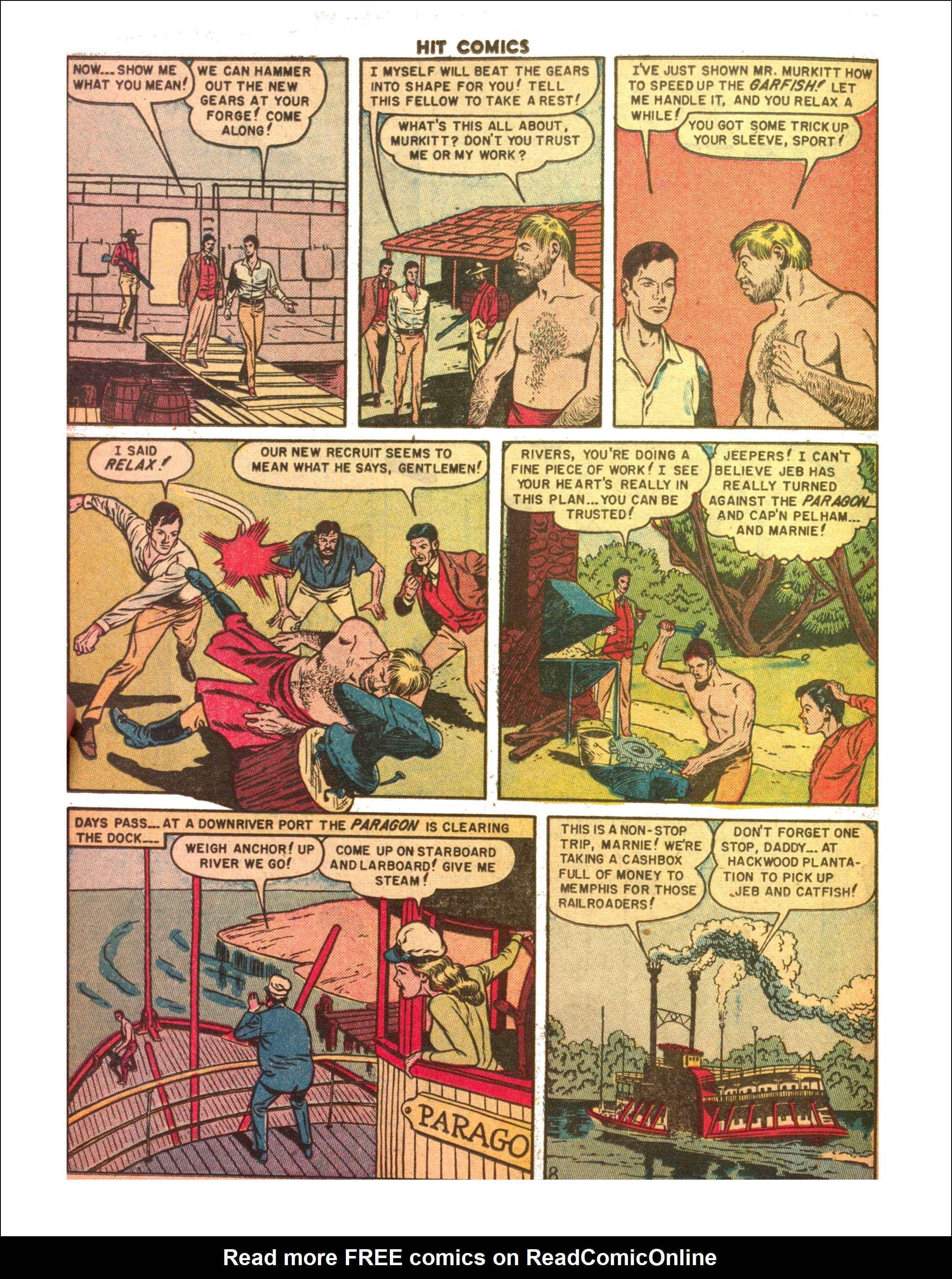 Read online Hit Comics comic -  Issue #65 - 10