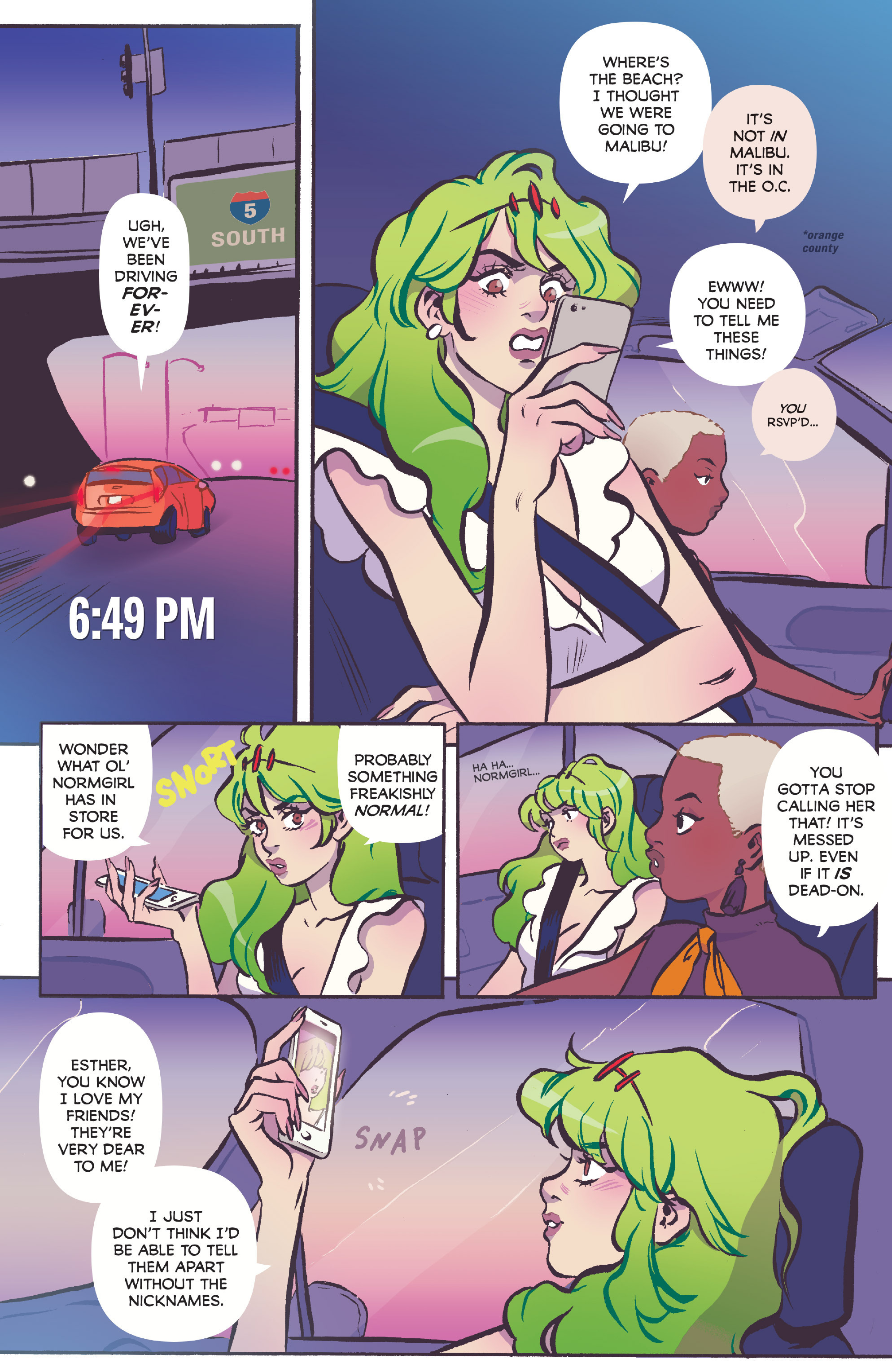 Read online Snotgirl comic -  Issue #3 - 5