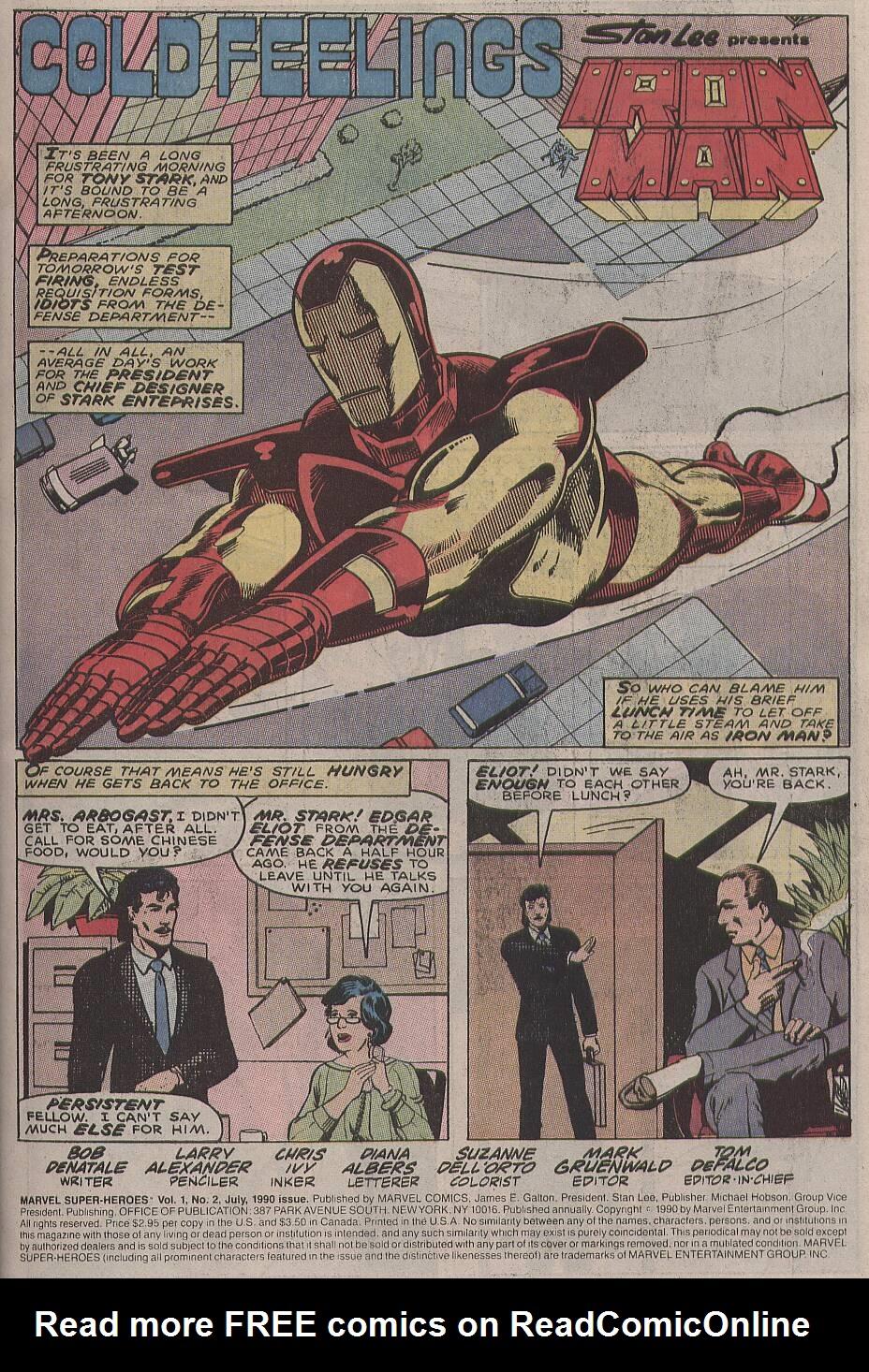 Marvel Super-Heroes (1990) 2 Page 2