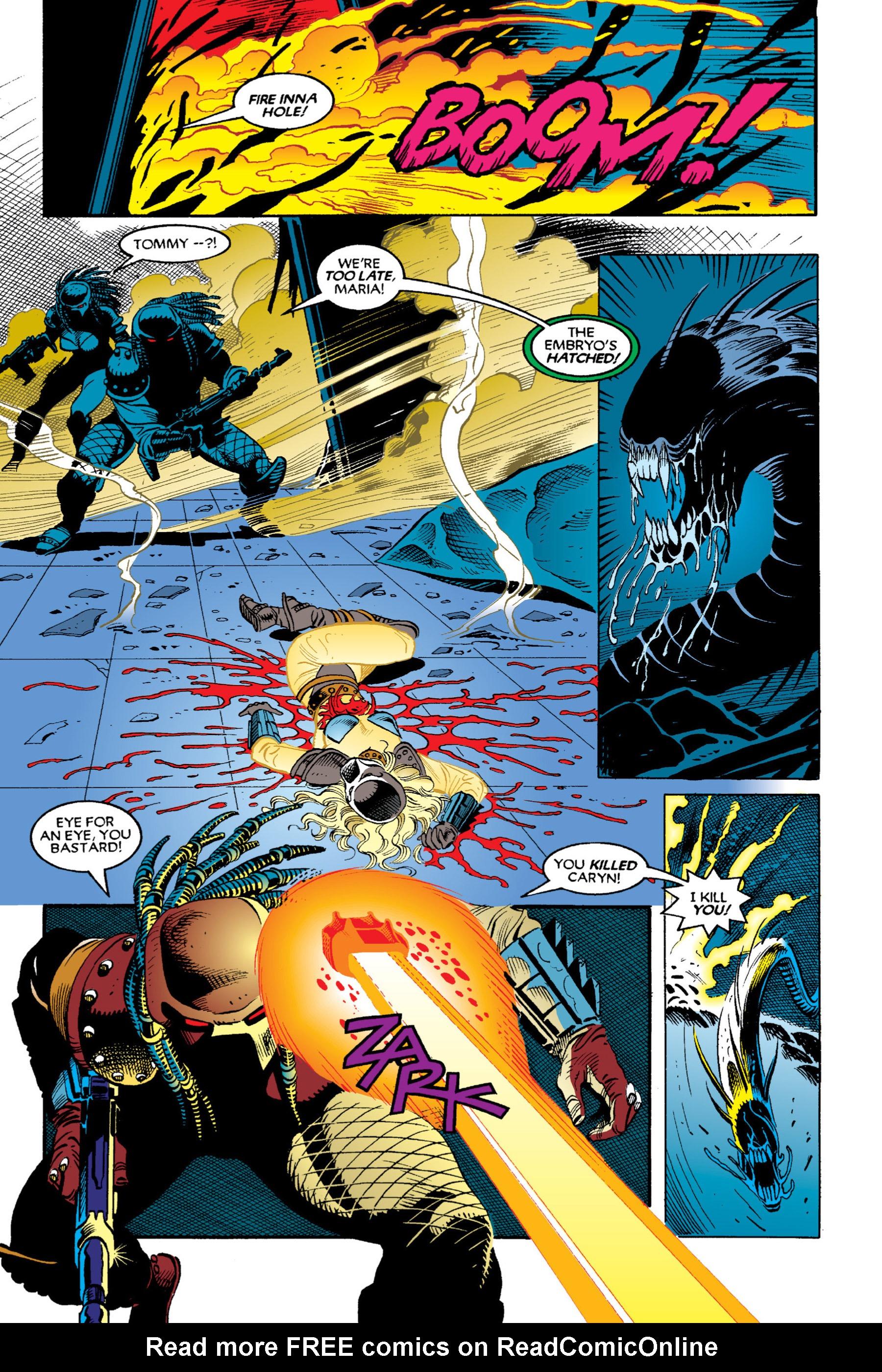 Read online Aliens vs. Predator Omnibus comic -  Issue # _TPB 2 Part 3 - 57