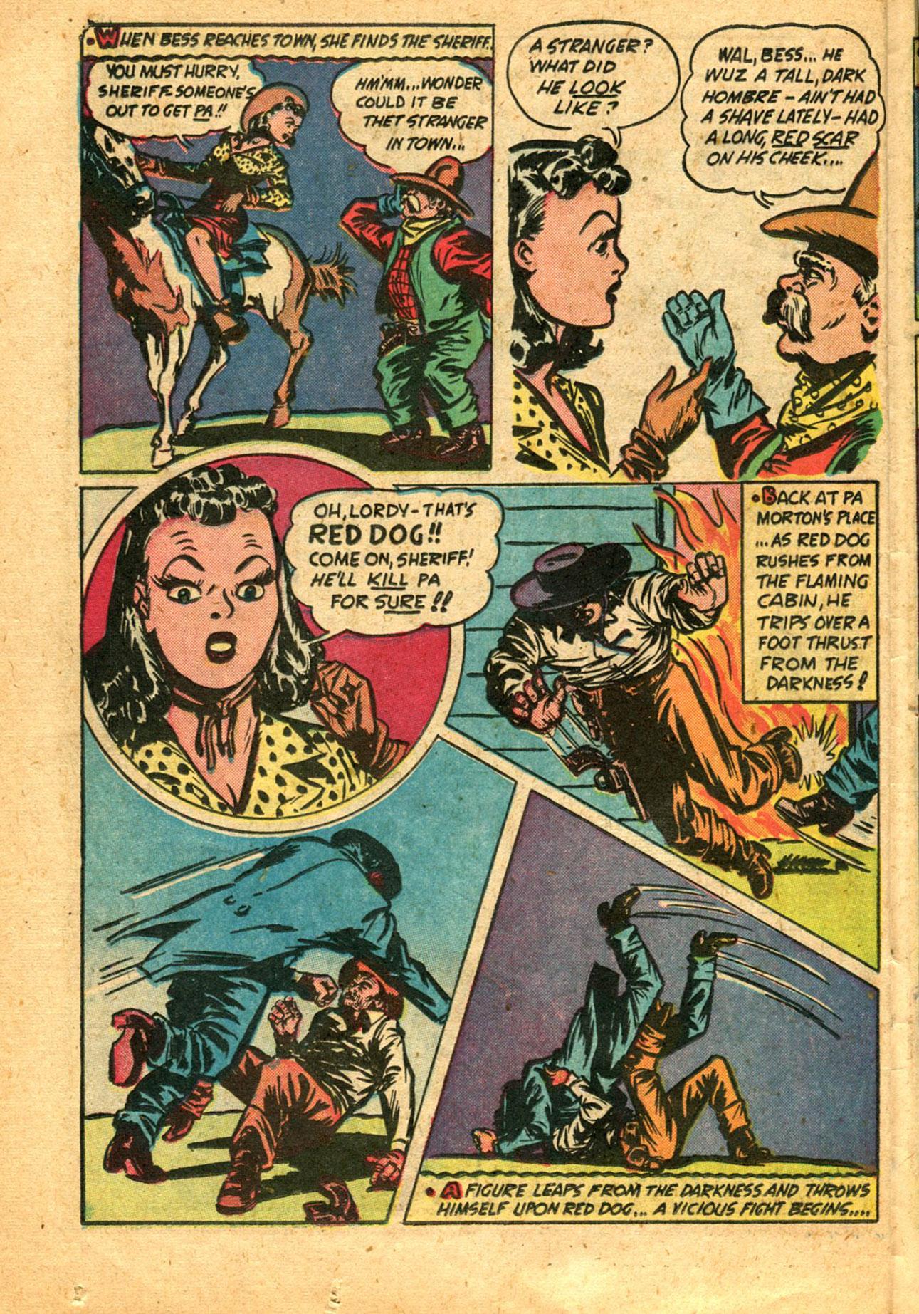 Read online Shadow Comics comic -  Issue #78 - 36