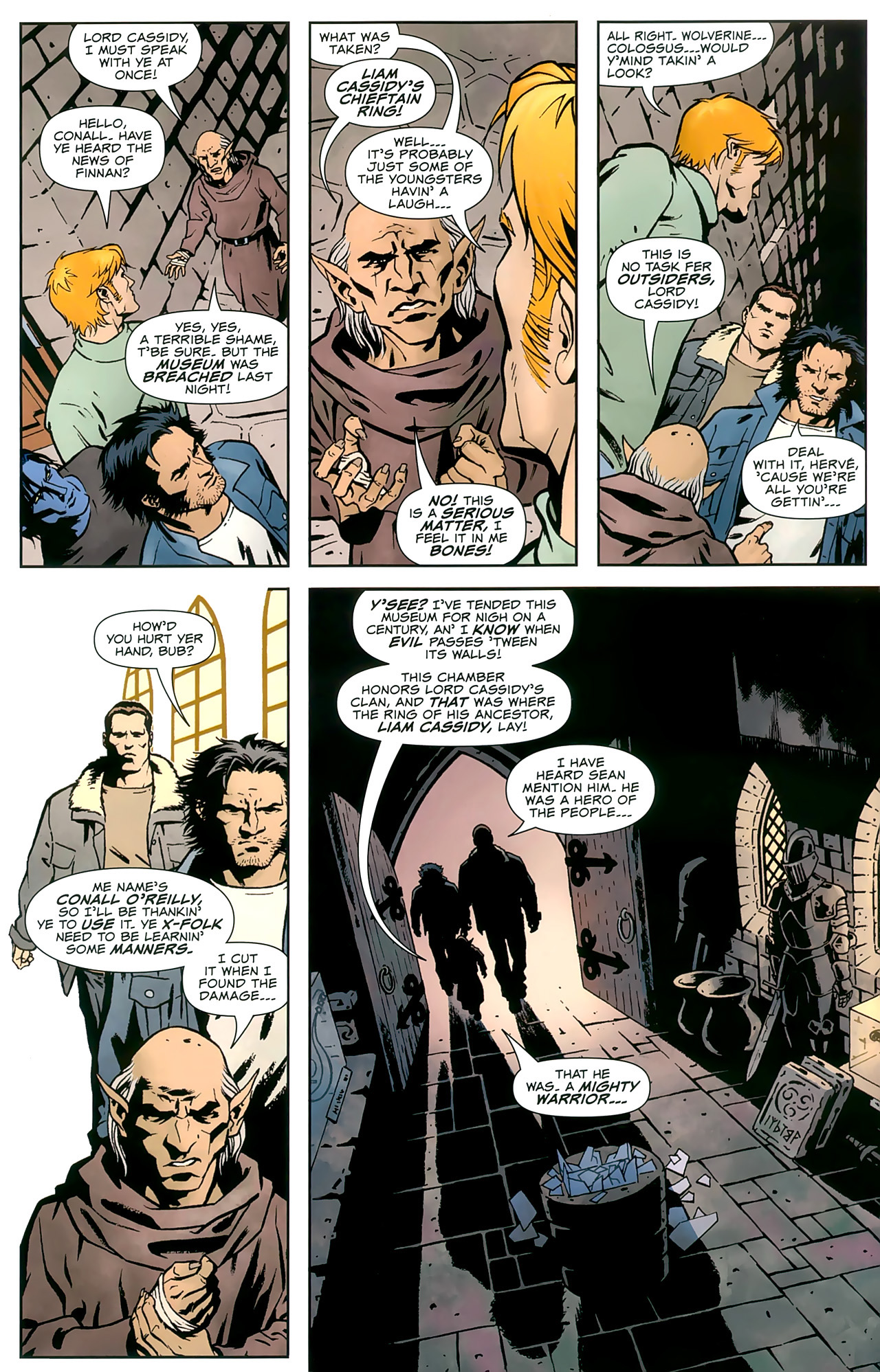 Read online Uncanny X-Men: First Class comic -  Issue #8 - 5