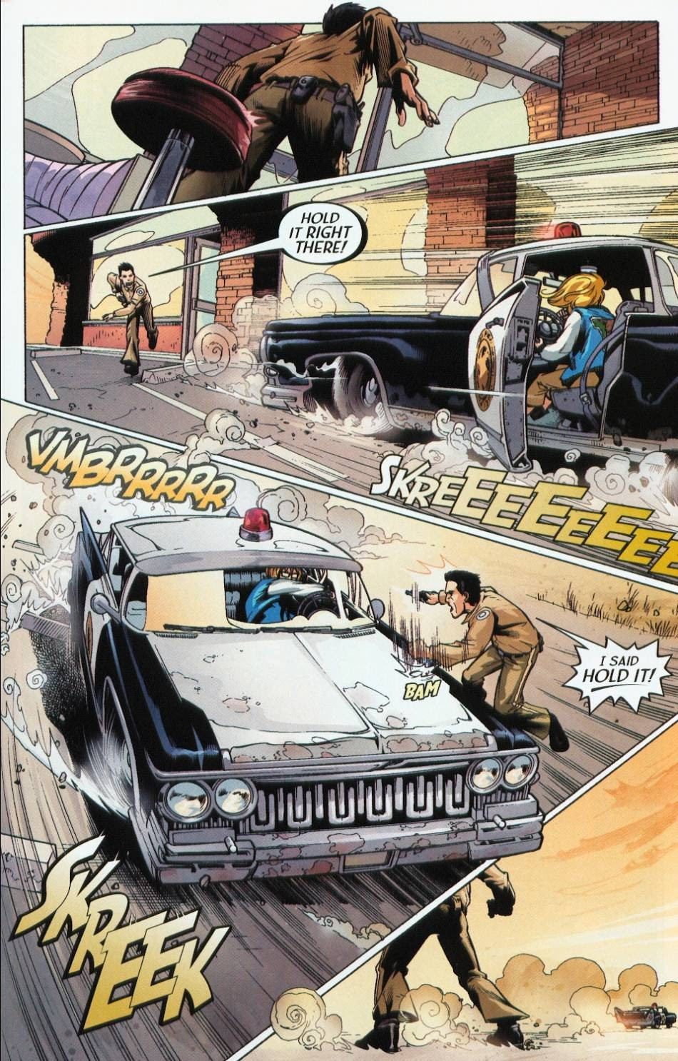 Read online Route 666 comic -  Issue #3 - 19