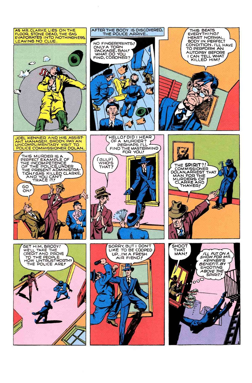 Read online Will Eisner's The Spirit Archives comic -  Issue # TPB 1 (Part 2) - 29