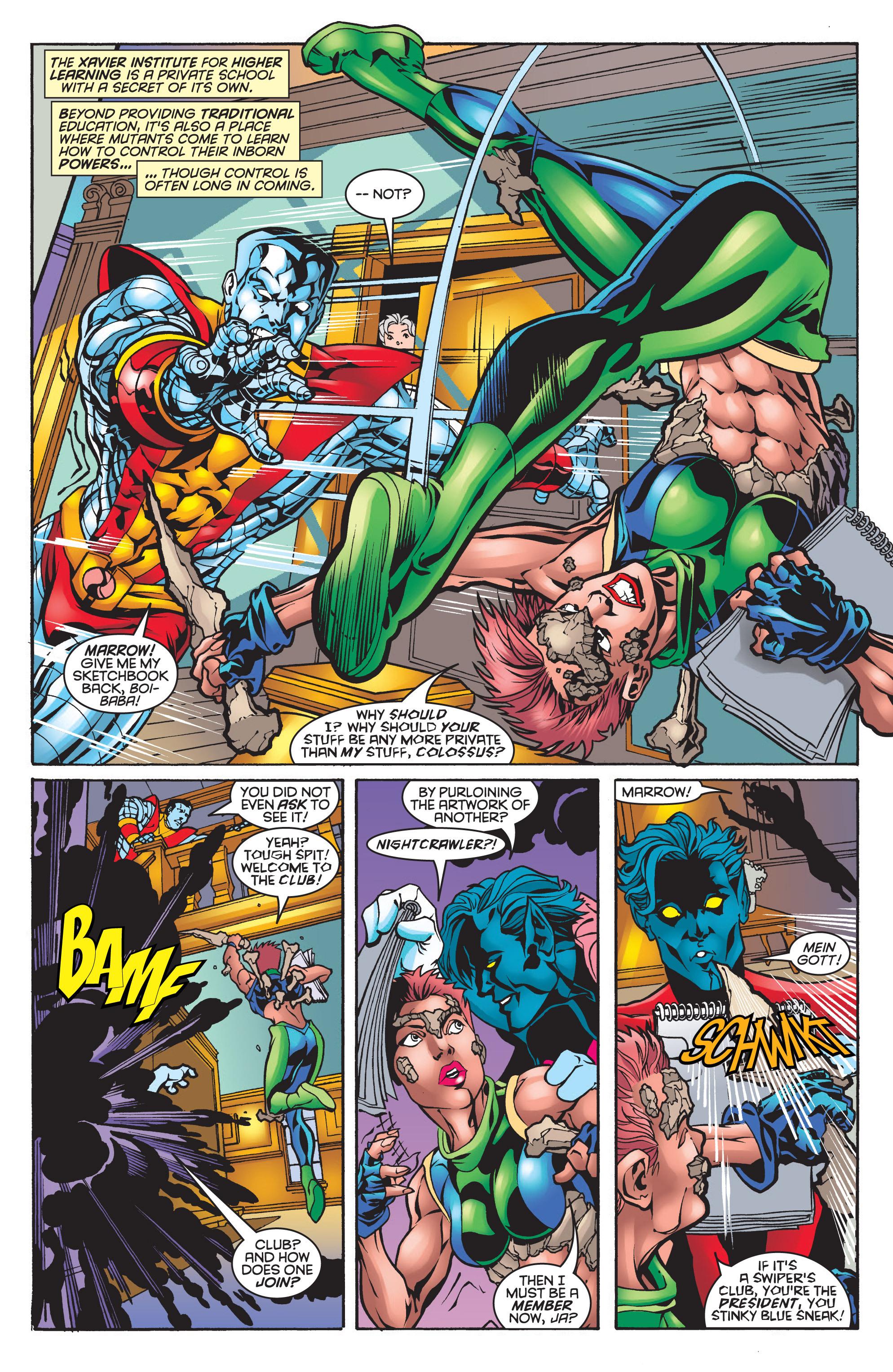 Read online Uncanny X-Men (1963) comic -  Issue #361 - 7