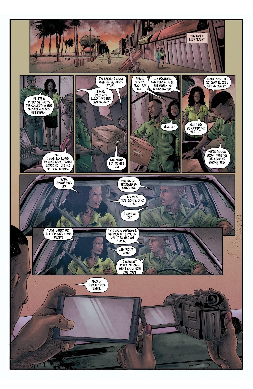 Read online Vindication comic -  Issue #4 - 11