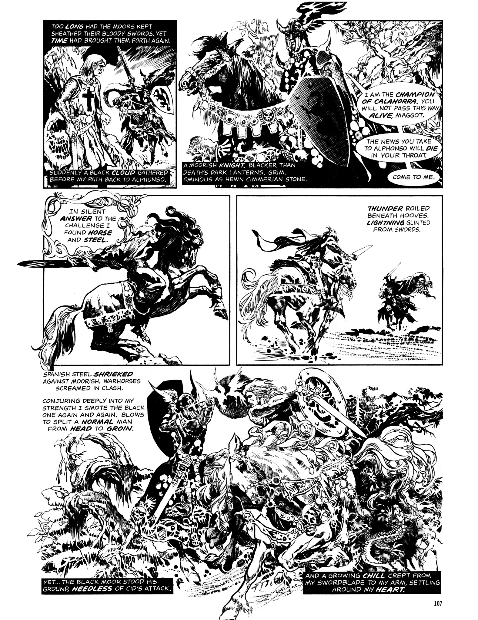 Read online Eerie Archives comic -  Issue # TPB 14 - 108