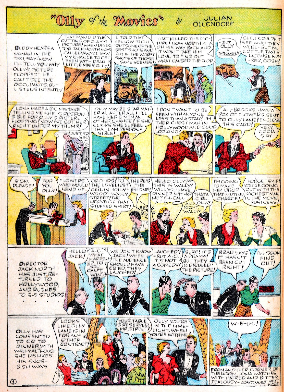 Read online Famous Funnies comic -  Issue #38 - 42
