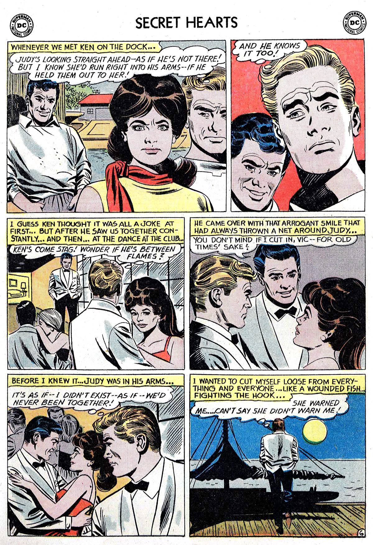 Read online Secret Hearts comic -  Issue #82 - 8