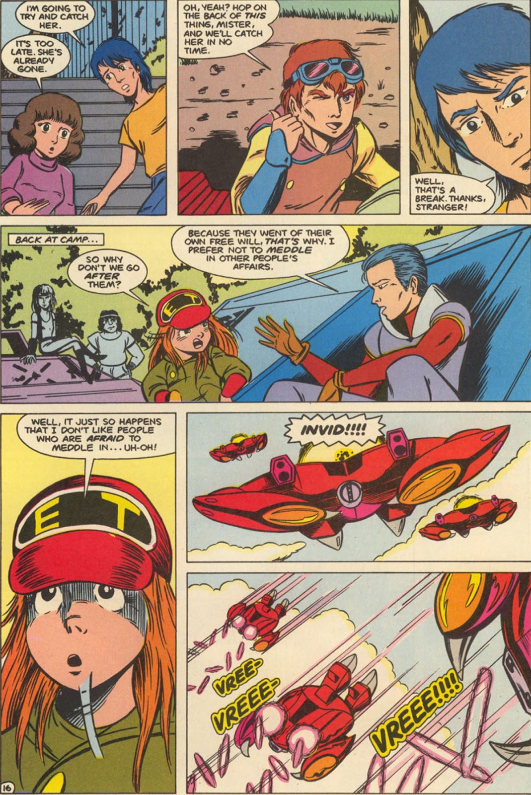Robotech The New Generation issue 6 - Page 20