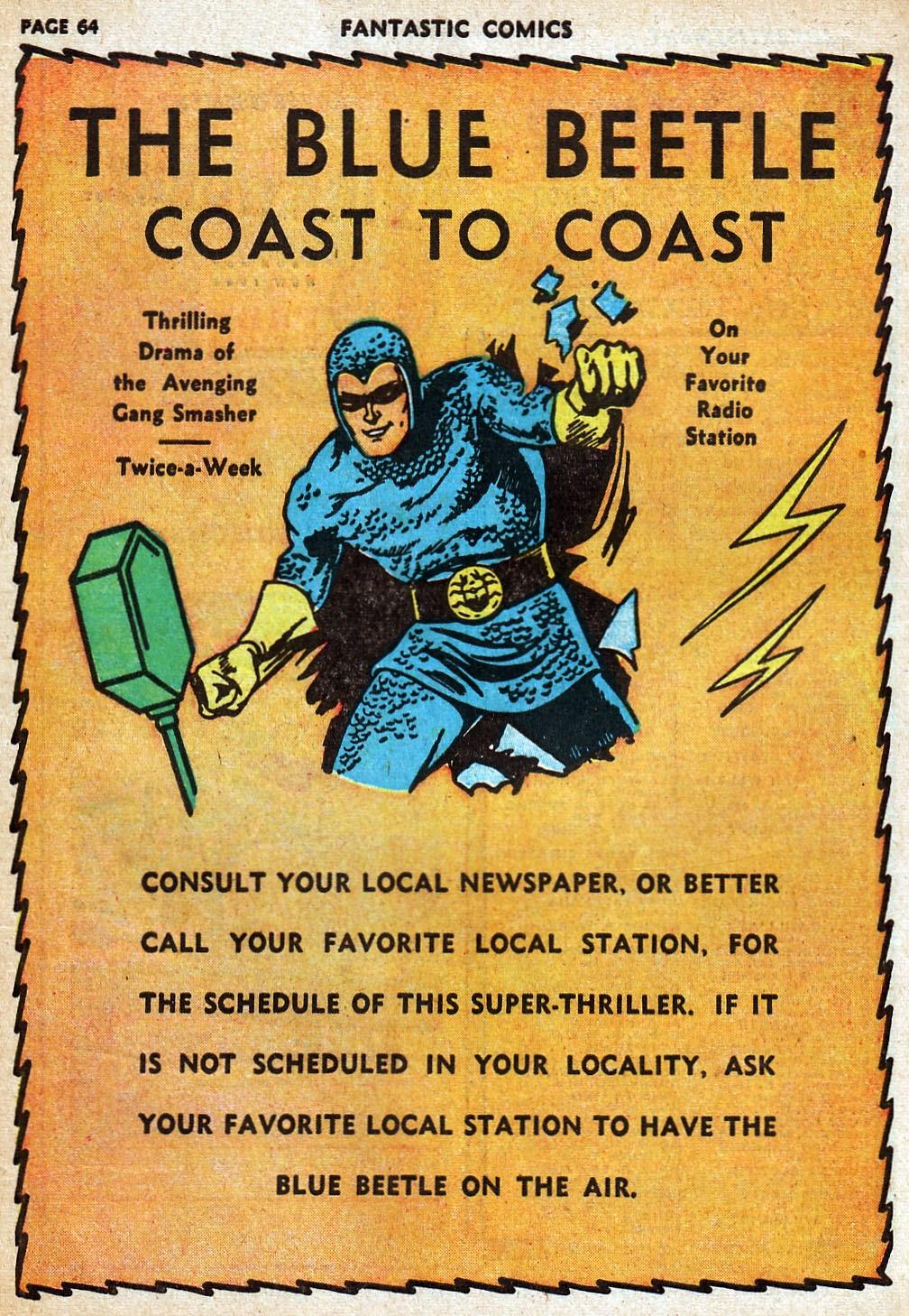 Read online Fantastic Comics comic -  Issue #20 - 64