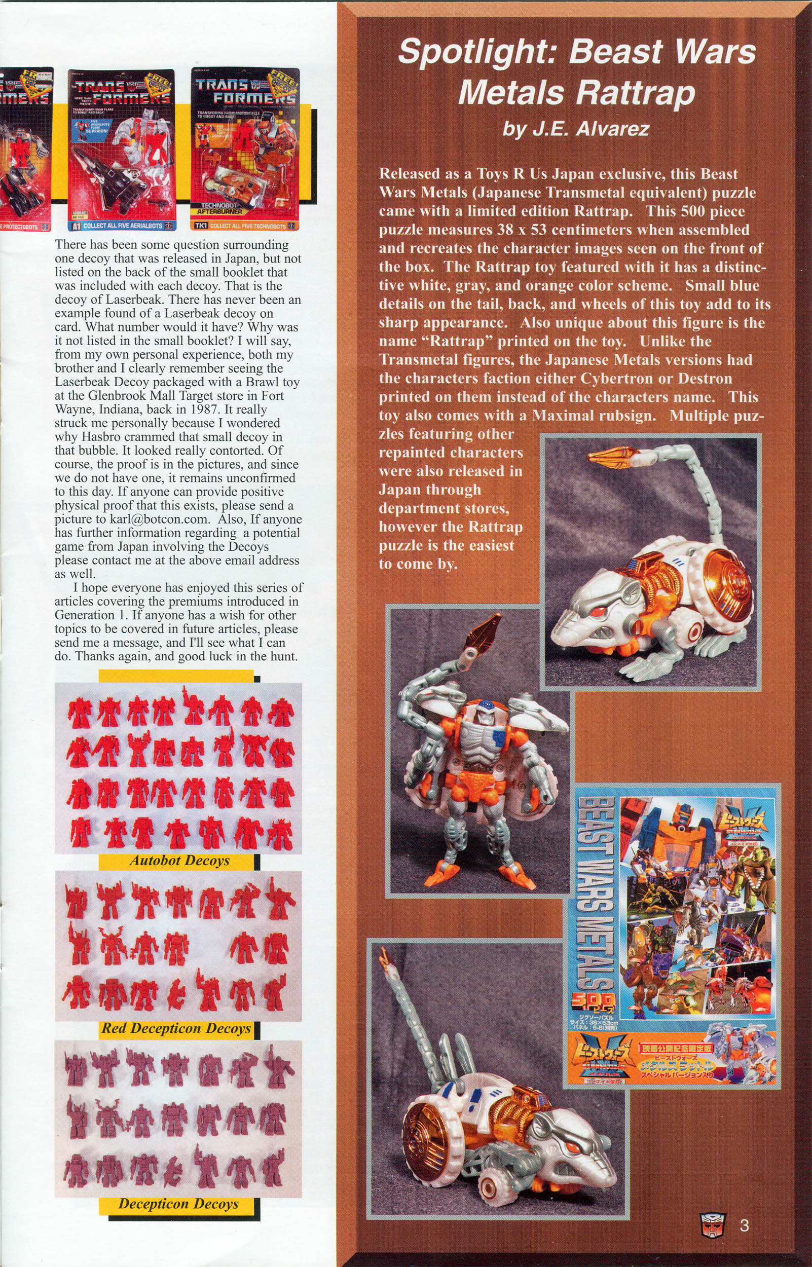 Read online Transformers: Collectors' Club comic -  Issue #6 - 3