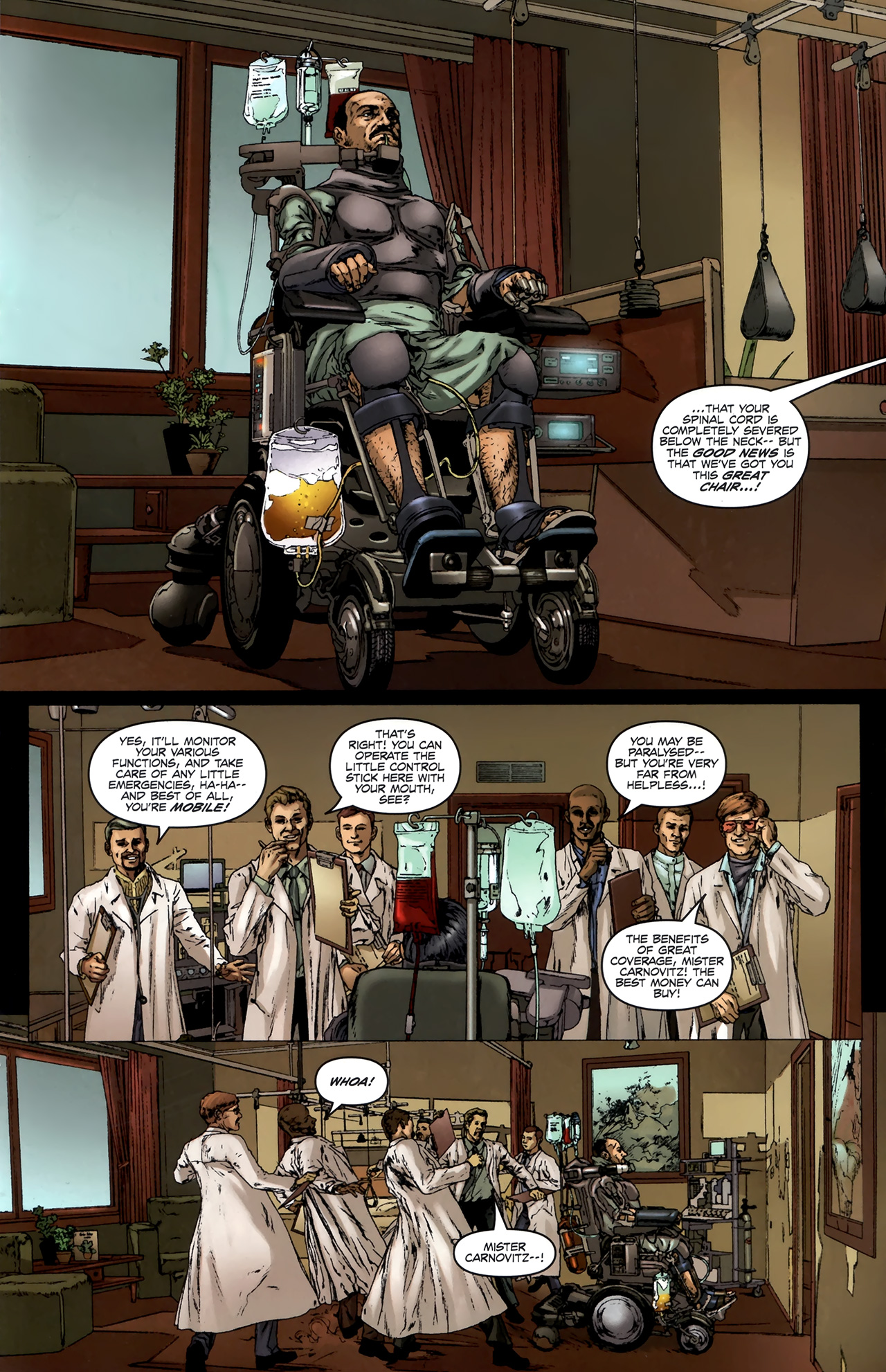 Read online Chronicles of Wormwood: The Last Battle comic -  Issue #6 - 24