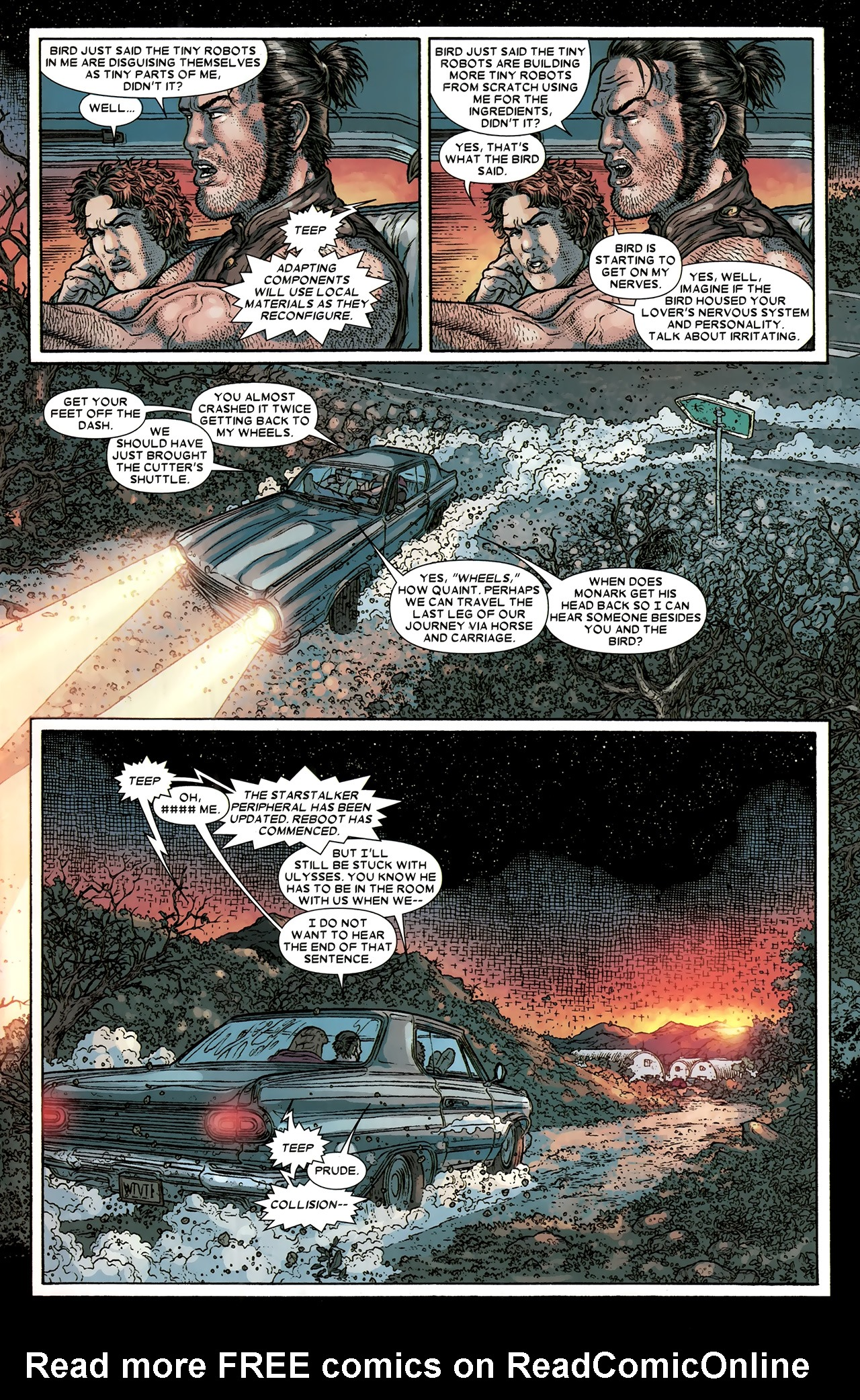 Read online Wolverine: The Best There Is comic -  Issue #10 - 10