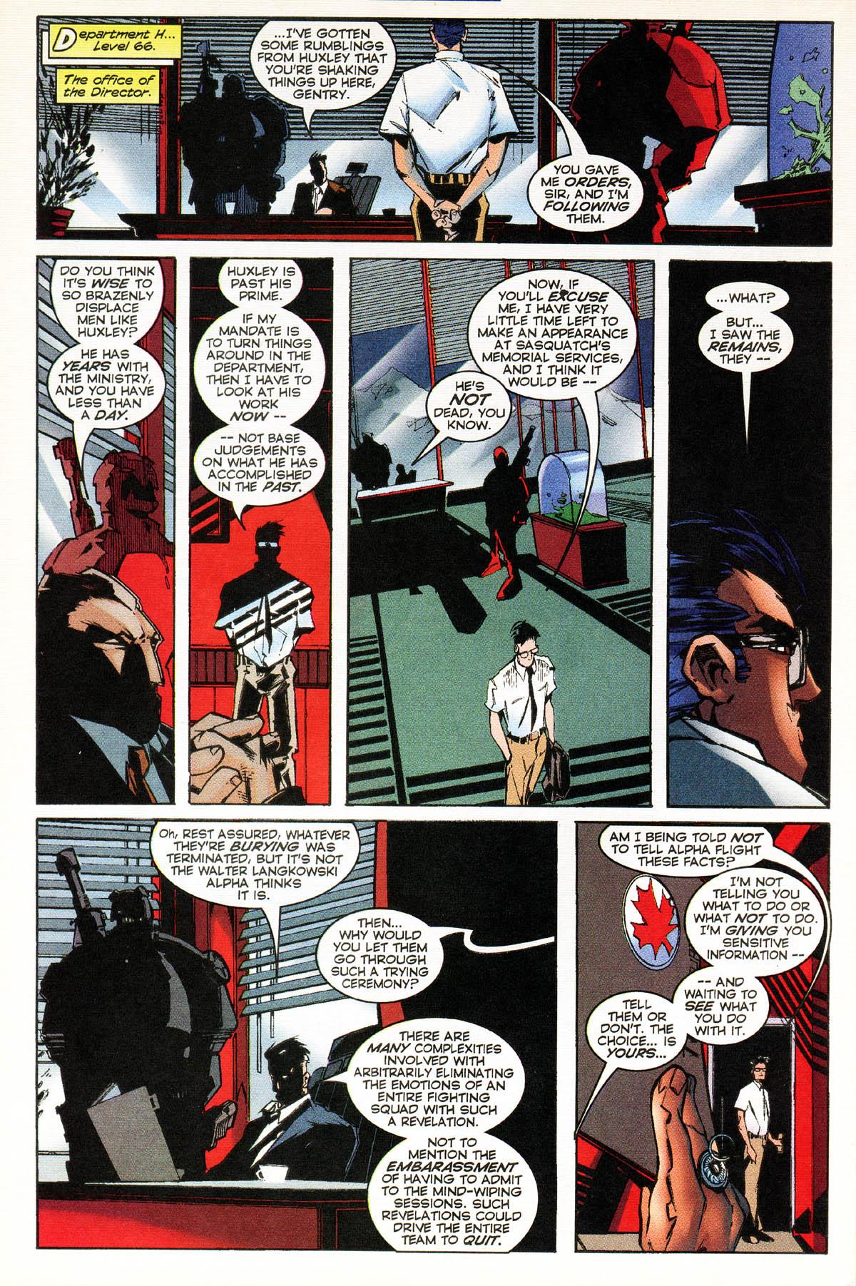 Read online Alpha Flight (1997) comic -  Issue #14 - 30