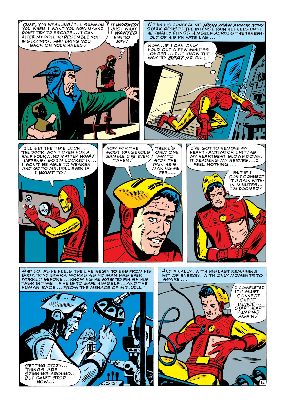 Read online Marvel Masterworks: The Invincible Iron Man comic -  Issue # TPB 1 (Part 2) - 54