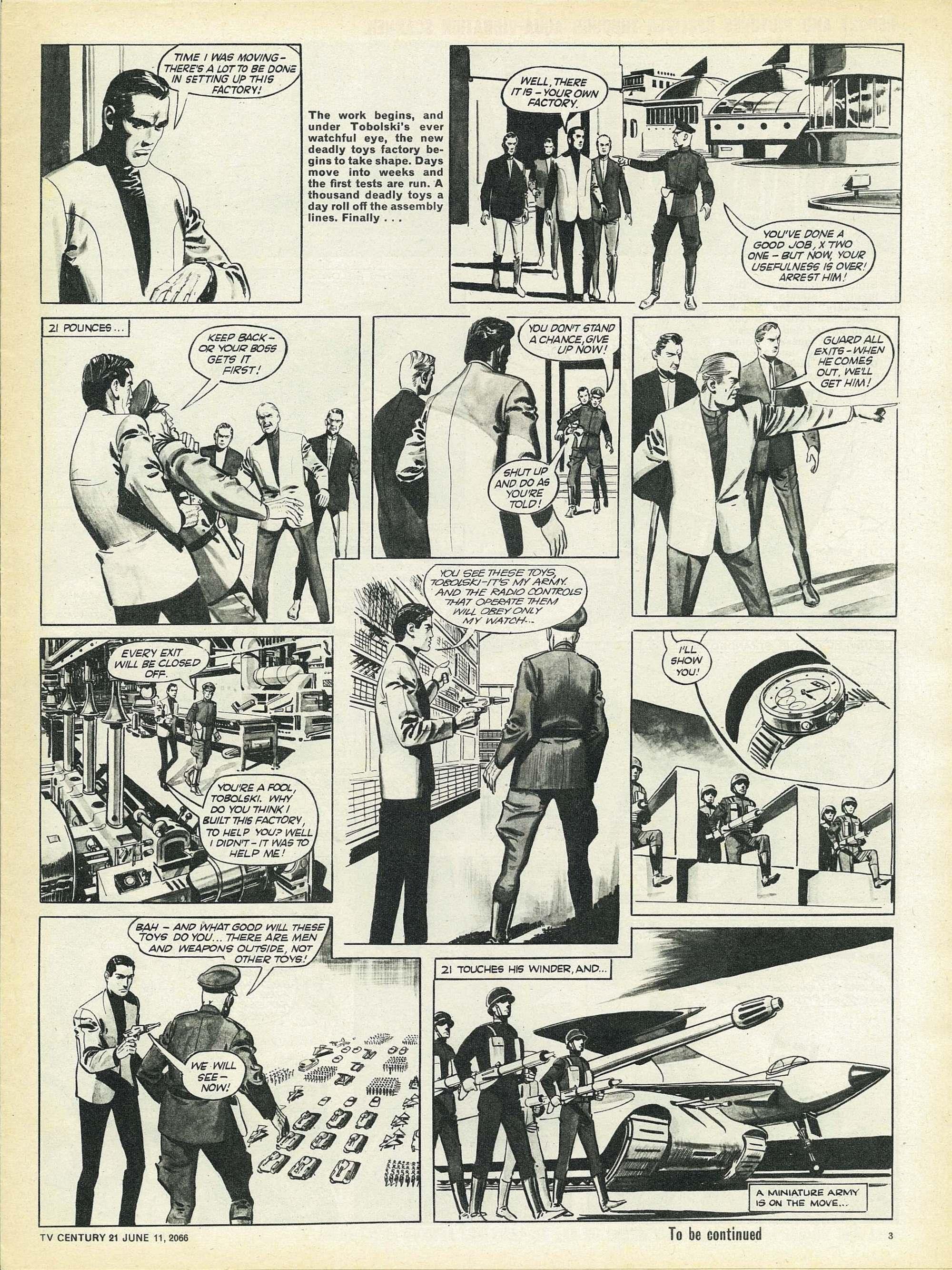 Read online TV Century 21 (TV 21) comic -  Issue #73 - 3