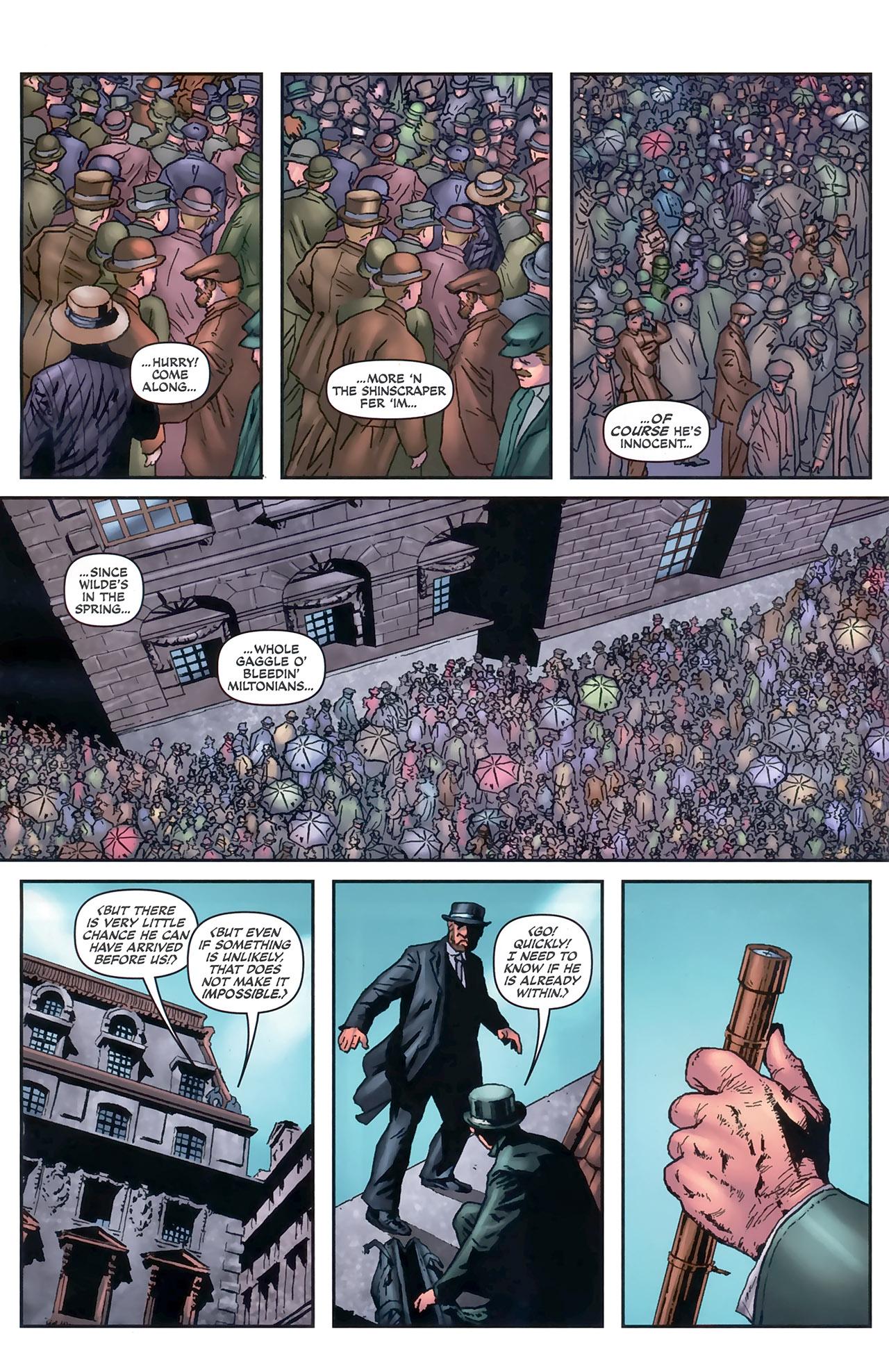 Read online Sherlock Holmes (2009) comic -  Issue #5 - 14