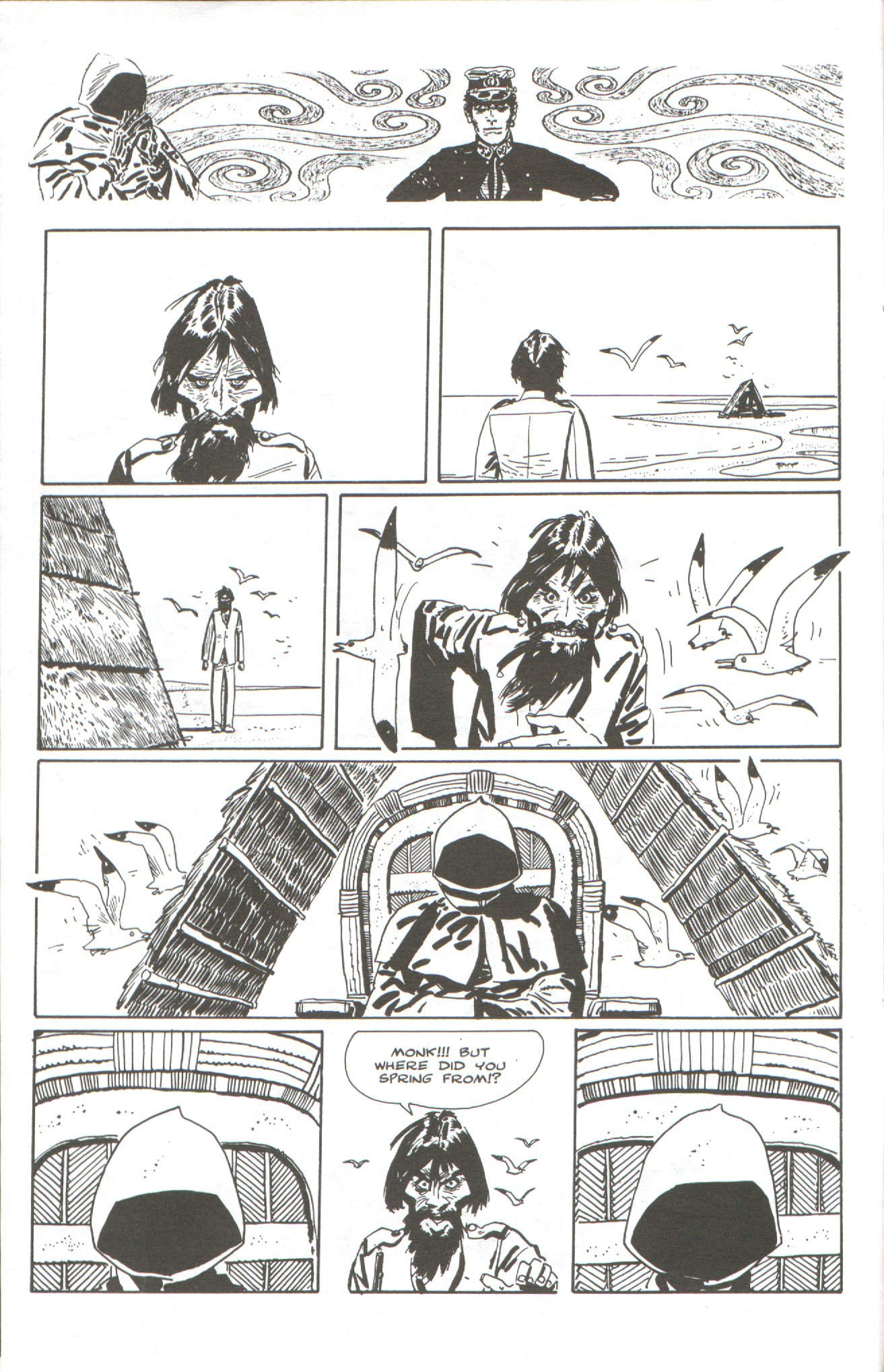 Read online Corto Maltese: Ballad of the Salt Sea comic -  Issue #5 - 12