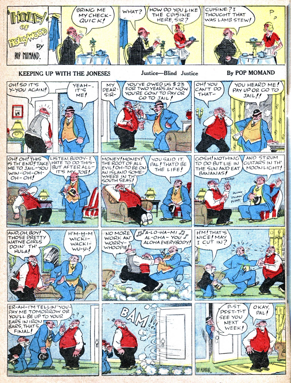 Read online Famous Funnies comic -  Issue #39 - 64