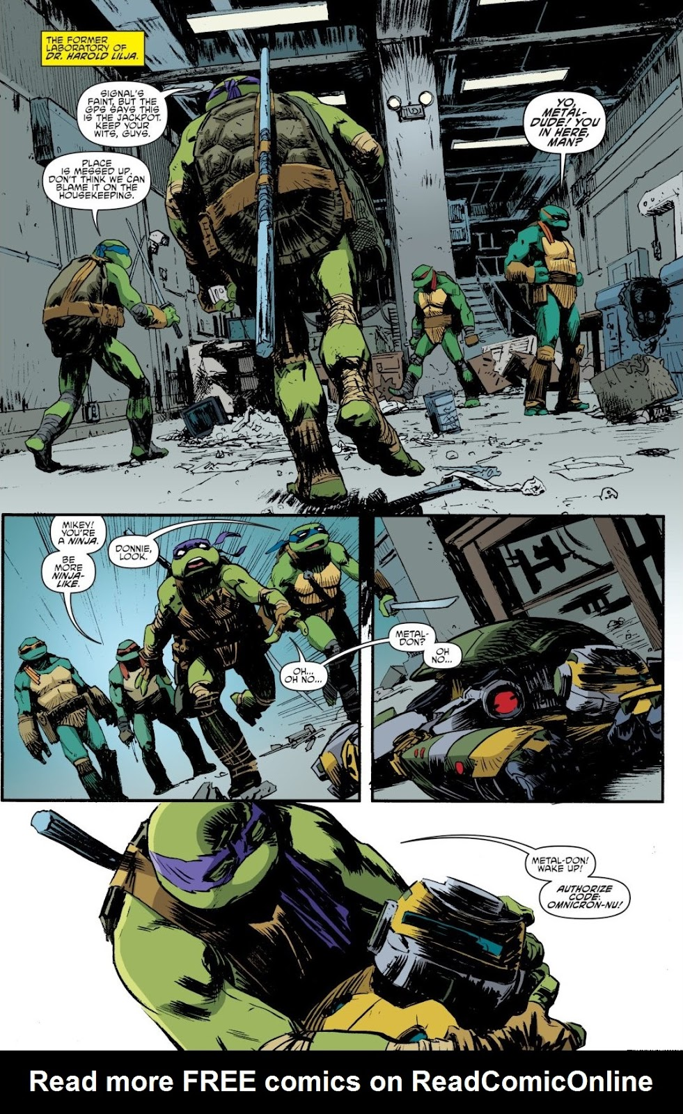 Read online Teenage Mutant Ninja Turtles: The IDW Collection comic -  Issue # TPB 8 (Part 4) - 66