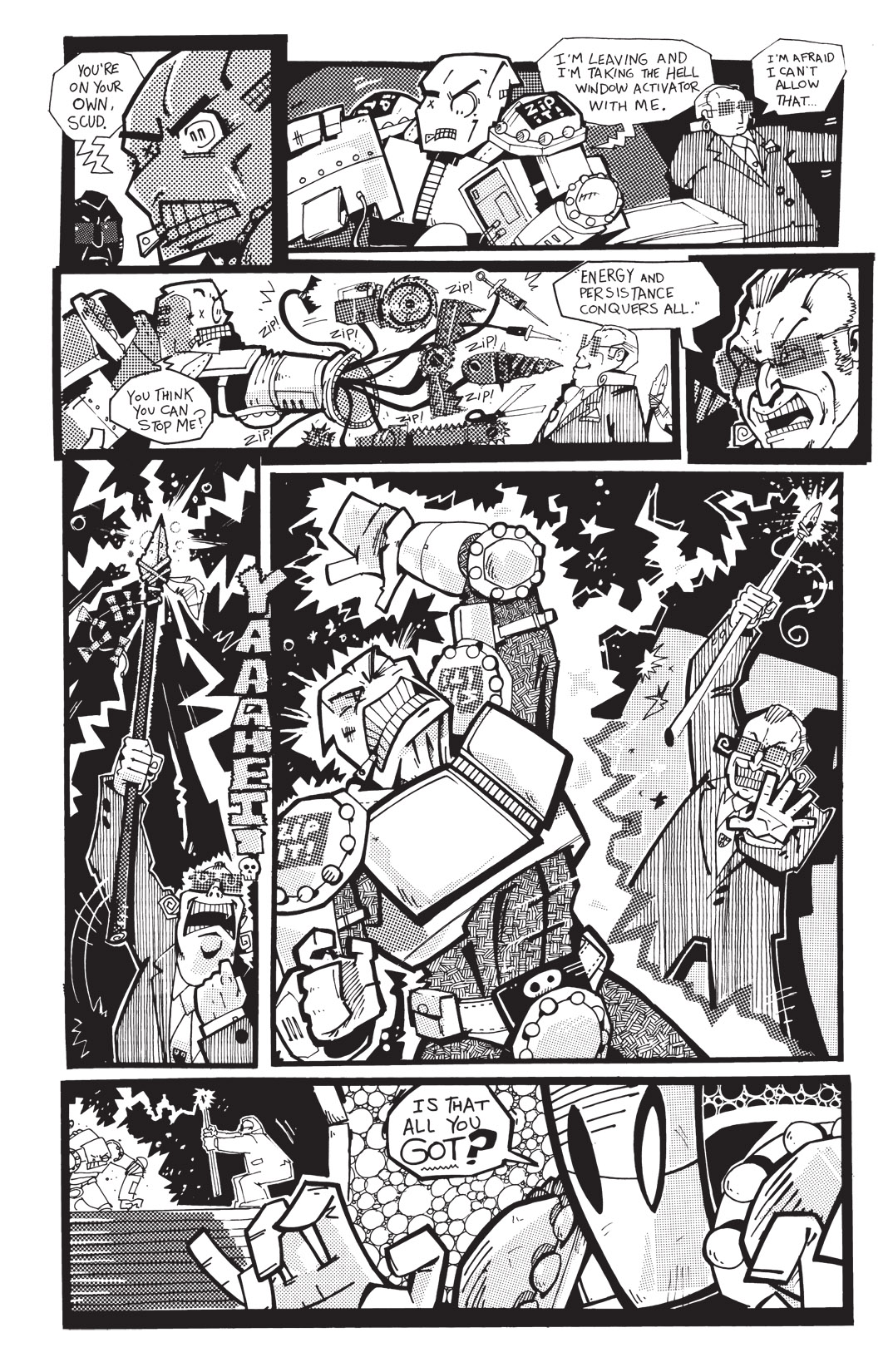 Read online Scud: The Disposable Assassin: The Whole Shebang comic -  Issue # TPB (Part 4) - 74