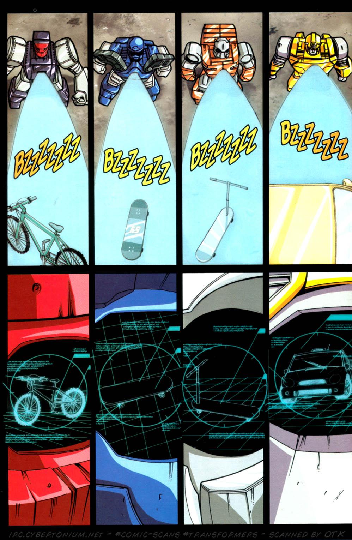 Read online Transformers Armada comic -  Issue #4 - 17