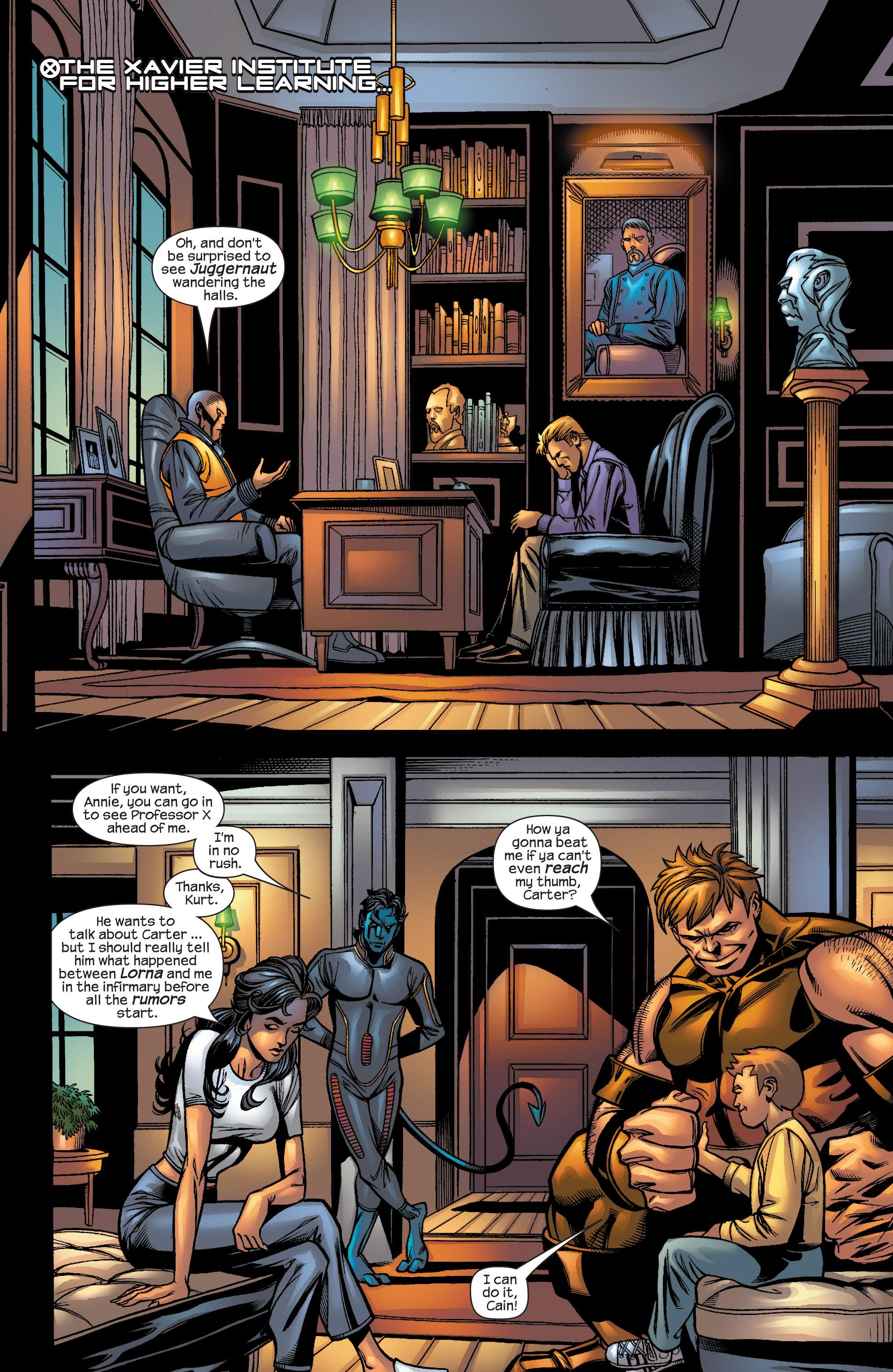 Read online Uncanny X-Men (1963) comic -  Issue #421 - 4