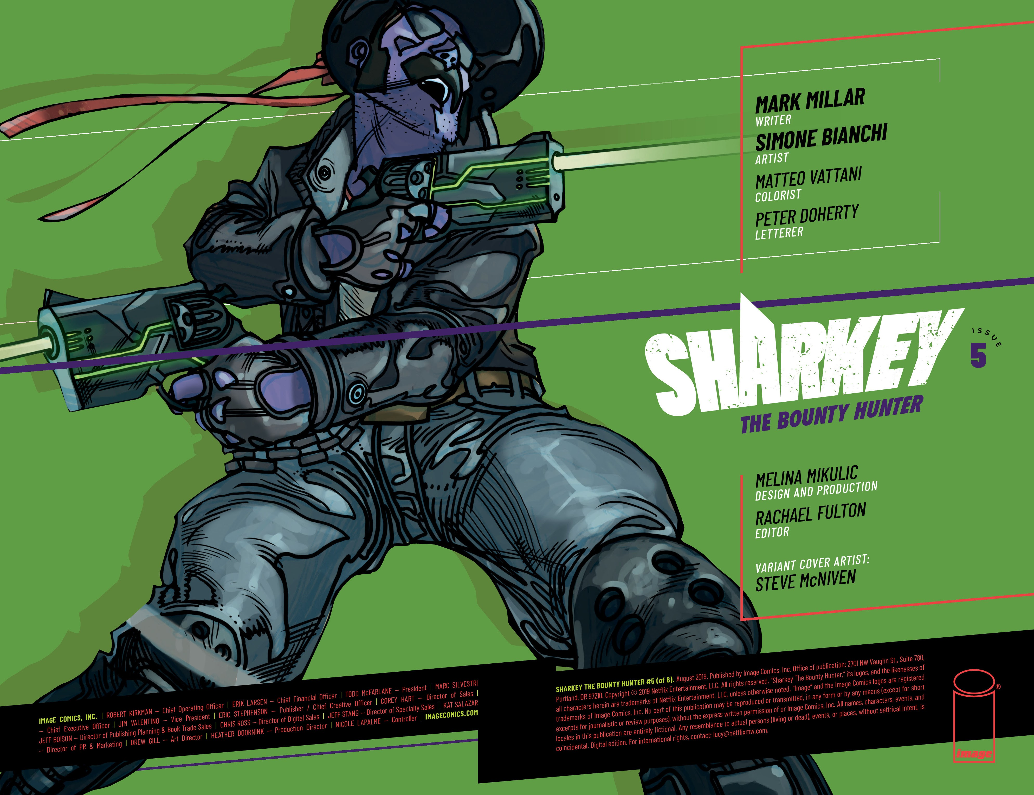 Sharkey the Bounty Hunter 5 Page 1