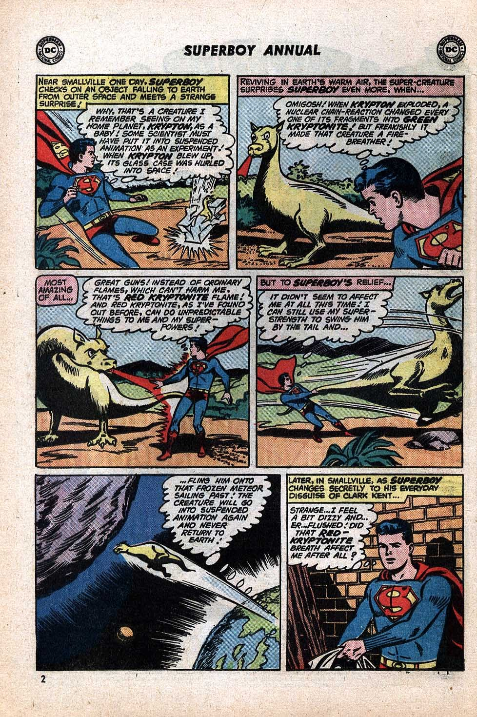 Superboy (1949) issue Annual 1 - Page 4