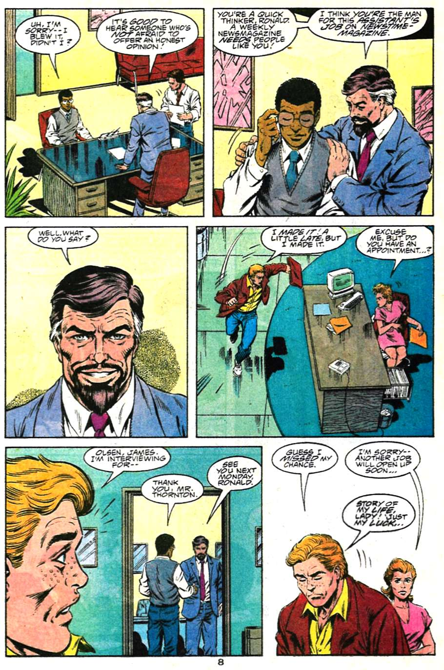 Read online Adventures of Superman (1987) comic -  Issue #481 - 9